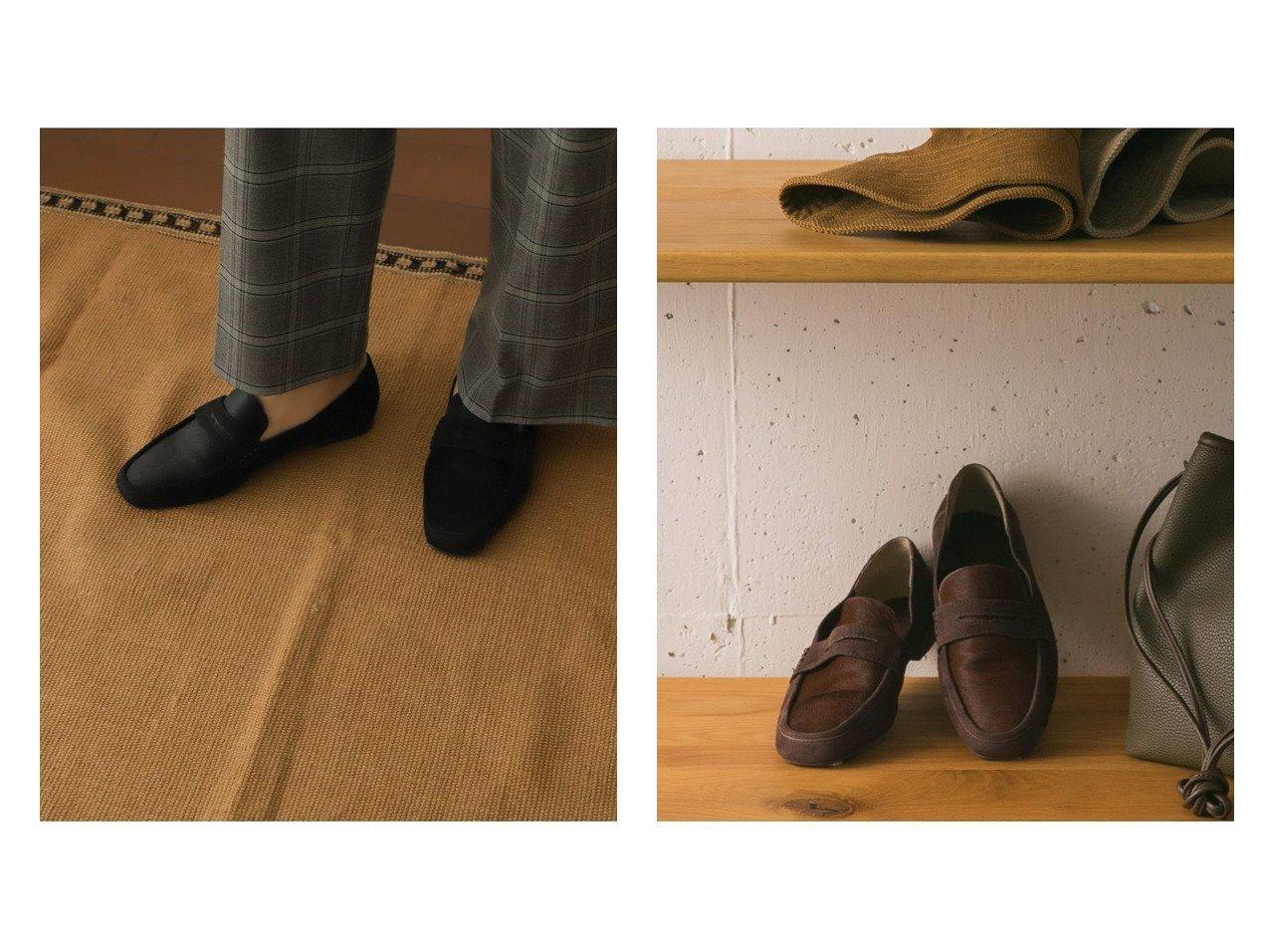 【URBAN RESEARCH DOORS/アーバンリサーチ ドアーズ】のハラコローファー シューズ・靴のおすすめ!人気、トレンド・レディースファッションの通販 おすすめで人気の流行・トレンド、ファッションの通販商品 メンズファッション・キッズファッション・インテリア・家具・レディースファッション・服の通販 founy(ファニー) https://founy.com/ ファッション Fashion レディースファッション WOMEN シューズ シンプル スエード フィット |ID:crp329100000011806