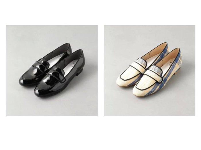 【Odette e Odile/オデット エ オディール】の【WEB限定】O テープローファー FLT15●↑ シューズ・靴のおすすめ!人気、トレンド・レディースファッションの通販 おすすめ人気トレンドファッション通販アイテム 人気、トレンドファッション・服の通販 founy(ファニー)  ファッション Fashion レディースファッション WOMEN シューズ チェック フラット 人気 |ID:crp329100000011815