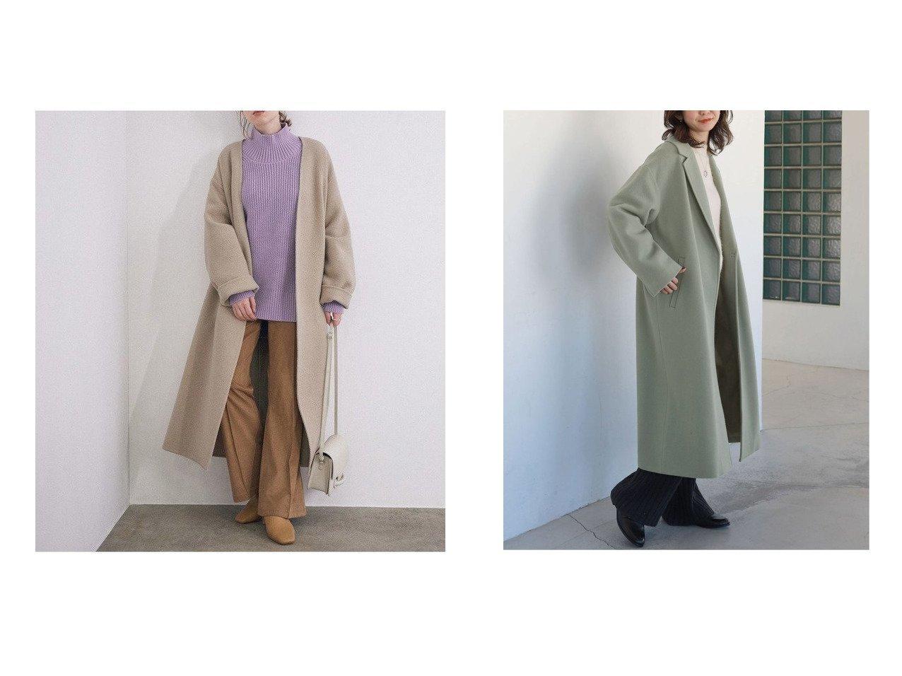 【SLOBE IENA/スローブ イエナ】の《追加》SUPER100 ロングチェスターコート&【ROPE' mademoiselle/ロペ マドモアゼル】の【ベルト付き】ノーカラーリバーウールロングコート アウターのおすすめ!人気、トレンド・レディースファッションの通販 おすすめで人気の流行・トレンド、ファッションの通販商品 メンズファッション・キッズファッション・インテリア・家具・レディースファッション・服の通販 founy(ファニー) https://founy.com/ ファッション Fashion レディースファッション WOMEN アウター Coat Outerwear コート Coats チェスターコート Top Coat ベルト Belts シンプル ストライプ スリット チェスターコート A/W 秋冬 AW Autumn/Winter / FW Fall-Winter 2020年 2020 2020-2021 秋冬 A/W AW Autumn/Winter / FW Fall-Winter 2020-2021 NEW・新作・新着・新入荷 New Arrivals スウェット スタイリッシュ タートル ネックレス ビッグ フェミニン ポケット |ID:crp329100000011875