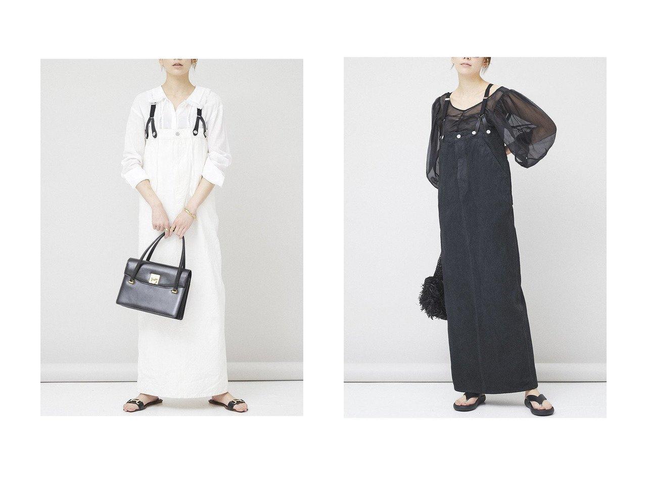 【Curensology/カレンソロジー】の【&RC】サスペンダーワンピース ワンピース・ドレスのおすすめ!人気、トレンド・レディースファッションの通販 おすすめで人気の流行・トレンド、ファッションの通販商品 メンズファッション・キッズファッション・インテリア・家具・レディースファッション・服の通販 founy(ファニー) https://founy.com/ ファッション Fashion レディースファッション WOMEN ワンピース Dress 2020年 2020 2020-2021 秋冬 A/W AW Autumn/Winter / FW Fall-Winter 2020-2021 2021年 2021 2021 春夏 S/S SS Spring/Summer 2021 サスペンダー スリット フィット ポケット レース ロング ヴィンテージ 春 Spring A/W 秋冬 AW Autumn/Winter / FW Fall-Winter  ID:crp329100000011927