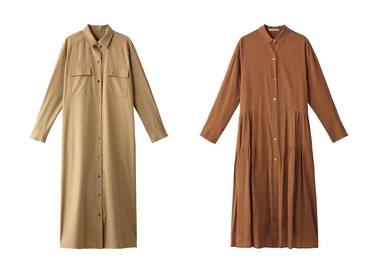 【ANAYI/アナイ】のカルゼストレッチシャツワンピース&キュプラツイルギャザーシャツワンピース ワンピース・ドレスのおすすめ!人気、トレンド・レディースファッションの通販 おすすめで人気の流行・トレンド、ファッションの通販商品 メンズファッション・キッズファッション・インテリア・家具・レディースファッション・服の通販 founy(ファニー) https://founy.com/ ファッション Fashion レディースファッション WOMEN ワンピース Dress シャツワンピース Shirt Dresses ストレッチ ロング 今季 羽織 ギャザー フェミニン フォルム  ID:crp329100000011936