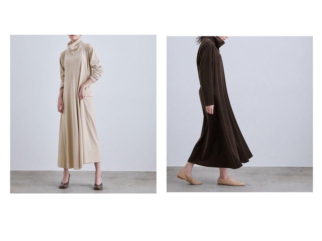 【ROPE/ロペ】の【LA LIGNE(ラリーニュ)】【洗える】エリヌキ ベロア ドレス ワンピース・ドレスのおすすめ!人気、トレンド・レディースファッションの通販 おすすめで人気の流行・トレンド、ファッションの通販商品 メンズファッション・キッズファッション・インテリア・家具・レディースファッション・服の通販 founy(ファニー) https://founy.com/ ファッション Fashion レディースファッション WOMEN ワンピース Dress ドレス Party Dresses ドレス ドレープ ベロア リラックス レギンス 洗える  ID:crp329100000011961