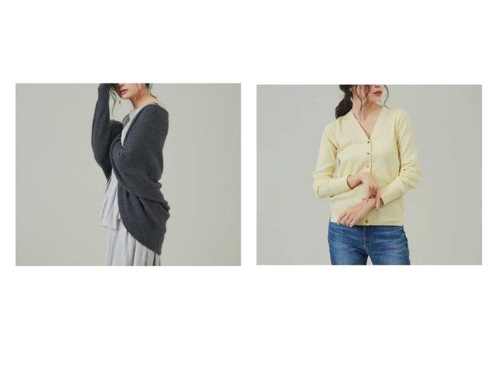 【qualite/カリテ】のハイゲージウールワイドリブカーディガン&2WAYカシミヤカーディガン トップス・カットソーのおすすめ!人気、トレンド・レディースファッションの通販 おすすめファッション通販アイテム レディースファッション・服の通販 founy(ファニー) ファッション Fashion レディースファッション WOMEN トップス Tops Tshirt カーディガン Cardigans カシミヤ カーディガン コンビ ショート ホールガーメント マフラー ミドル イエロー インナー スリット ボトム ワイドリブ A/W 秋冬 AW Autumn/Winter / FW Fall-Winter |ID:crp329100000011998