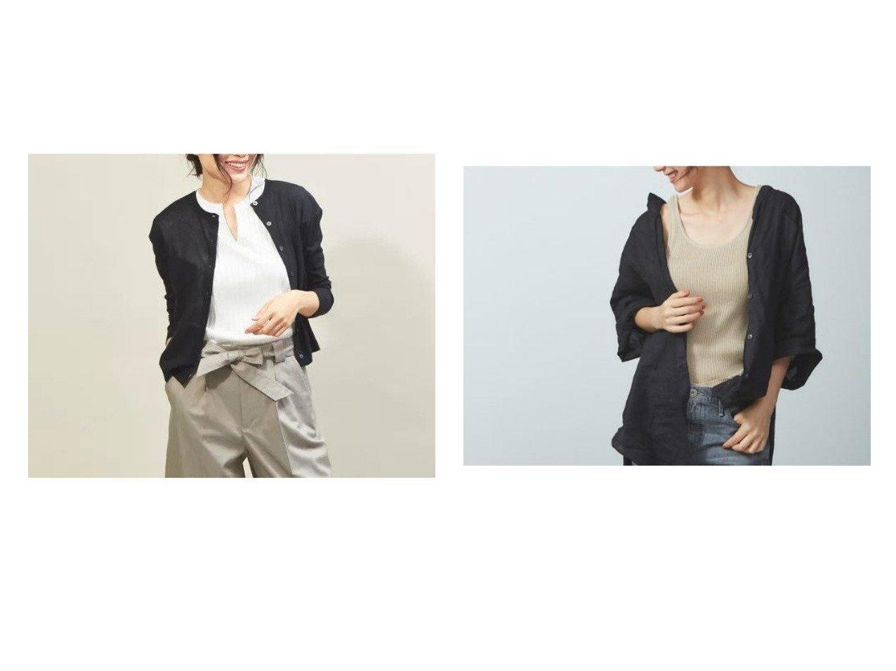 【qualite/カリテ】のドライフライスショートカーディガン&【Rouge vif/ルージュ ヴィフ】の【JILKY】リブ編みタンクトップ トップス・カットソーのおすすめ!人気、トレンド・レディースファッションの通販 おすすめで人気の流行・トレンド、ファッションの通販商品 メンズファッション・キッズファッション・インテリア・家具・レディースファッション・服の通販 founy(ファニー) https://founy.com/ ファッション Fashion レディースファッション WOMEN トップス Tops Tshirt カーディガン Cardigans シャツ/ブラウス Shirts Blouses ロング / Tシャツ T-Shirts カットソー Cut and Sewn キャミソール / ノースリーブ No Sleeves カットソー カーディガン サンダル ショート シンプル スタイリッシュ プリーツ ボックス リゾート 春 Spring キャミソール ショルダー ストレッチ タンク フィット |ID:crp329100000012002