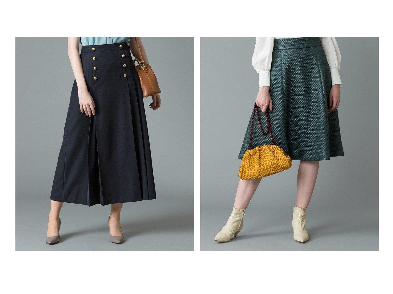【allureville/アルアバイル】のGD釦セーラーラップスカート&【LOULOU WILLOUGHBY】キルティングフレアースカート ファッション雑誌・Webマガジン掲載!おすすめ人気トレンド・レディースファッション通販 おすすめで人気の流行・トレンド、ファッションの通販商品 メンズファッション・キッズファッション・インテリア・家具・レディースファッション・服の通販 founy(ファニー) https://founy.com/ 雑誌掲載アイテム Magazine items ファッション雑誌 Fashion magazines クラッシィ CLASSY. ビジンヒャッカ 美人百花 ファッション Fashion レディースファッション WOMEN スカート Skirt Aライン/フレアスカート Flared A-Line Skirts 2月号 バランス ラップ ロング 雑誌 |ID:crp329100000012177
