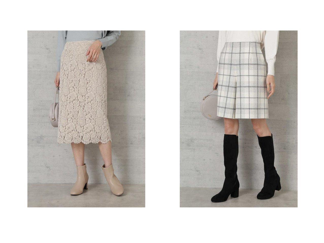 【NATURAL BEAUTY BASIC/ナチュラル ビューティー ベーシック】の|VERY 1月号掲載|ウール混キュロットパンツ&|美人百花 1月号掲載|モールレースタイトスカート ファッション雑誌・Webマガジン掲載!おすすめ人気トレンド・レディースファッション通販 おすすめで人気の流行・トレンド、ファッションの通販商品 メンズファッション・キッズファッション・インテリア・家具・レディースファッション・服の通販 founy(ファニー) https://founy.com/ 雑誌掲載アイテム Magazine items ファッション雑誌 Fashion magazines ビジンヒャッカ 美人百花 ファッション Fashion レディースファッション WOMEN スカート Skirt 1月号 タイトスカート レース 再入荷 Restock/Back in Stock/Re Arrival A/W 秋冬 AW Autumn/Winter / FW Fall-Winter 雑誌 キュロット スマート タイツ バランス 切替 |ID:crp329100000012203