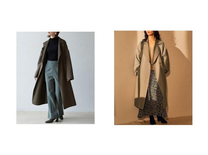 【Laguna Moon/ラグナムーン】のLAGUNAMOON カルゼリバーコート 別注・限定・コラボなど、おすすめ!人気トレンド・レディースファッション通販 おすすめ人気トレンドファッション通販アイテム 人気、トレンドファッション・服の通販 founy(ファニー) ファッション Fashion レディースファッション WOMEN アウター Coat Outerwear コート Coats 2020年 2020 2020-2021 秋冬 A/W AW Autumn/Winter / FW Fall-Winter 2020-2021 冬 Winter ルーズ 別注 雑誌 |ID:crp329100000012286
