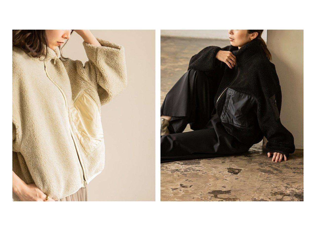 【NOBLE / Spick & Span/ノーブル / スピック&スパン】の《追加》【TATRAS】別注ボアブルゾン 別注・限定・コラボなど、おすすめ!人気トレンド・レディースファッション通販 おすすめで人気の流行・トレンド、ファッションの通販商品 メンズファッション・キッズファッション・インテリア・家具・レディースファッション・服の通販 founy(ファニー) https://founy.com/ ファッション Fashion レディースファッション WOMEN アウター Coat Outerwear ブルゾン Blouson Jackets イタリア トレンド フェミニン ブルゾン ポケット 別注 ミラノ A/W 秋冬 AW Autumn/Winter / FW Fall-Winter 2020年 2020 再入荷 Restock/Back in Stock/Re Arrival 2020-2021 秋冬 A/W AW Autumn/Winter / FW Fall-Winter 2020-2021 |ID:crp329100000012292