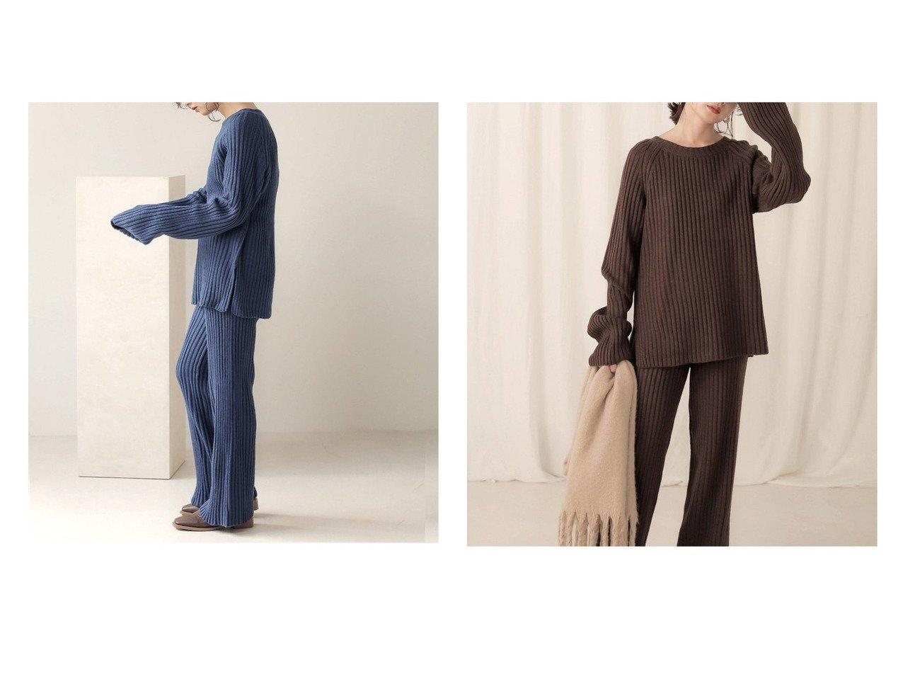 【Bab/バブ】の【WEB限定】カラーニットセットアップ 別注・限定・コラボなど、おすすめ!人気トレンド・レディースファッション通販 おすすめで人気の流行・トレンド、ファッションの通販商品 メンズファッション・キッズファッション・インテリア・家具・レディースファッション・服の通販 founy(ファニー) https://founy.com/ ファッション Fashion レディースファッション WOMEN トップス Tops Tshirt ニット Knit Tops NEW・新作・新着・新入荷 New Arrivals シンプル セットアップ フィット ポケット リラックス 無地 |ID:crp329100000012365
