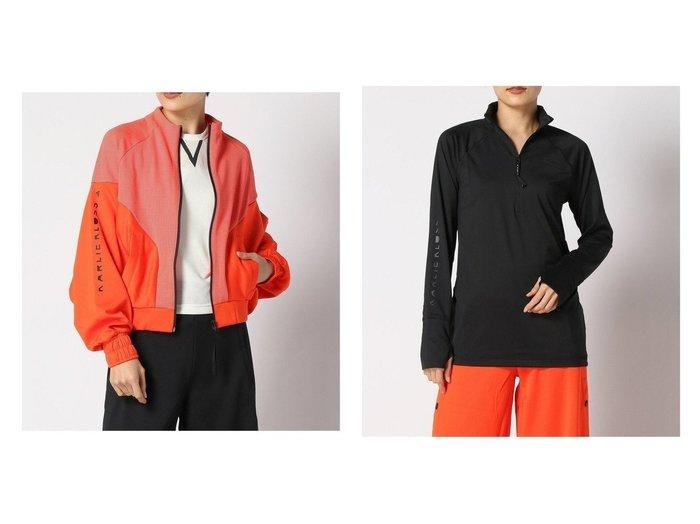 【adidas Sports Performance/アディダス スポーツ パフォーマンス】のカーリー・クロス カバーアップ シャツ Karlie Kloss Cover-Up Shirt アディダス&カーリー・クロス 長袖Tシャツ Karlie Kloss Long Sleeve Tee アディダス 別注・限定・コラボなど、おすすめ!人気トレンド・レディースファッション通販 おすすめ人気トレンドファッション通販アイテム 人気、トレンドファッション・服の通販 founy(ファニー) ファッション Fashion レディースファッション WOMEN トップス Tops Tshirt シャツ/ブラウス Shirts Blouses ロング / Tシャツ T-Shirts カットソー Cut and Sewn アウター Coat Outerwear コート Coats ジャケット Jackets カットソー グラフィック コラボ コレクション スタイリッシュ ストレッチ 長袖 ハイネック NEW・新作・新着・新入荷 New Arrivals |ID:crp329100000012389