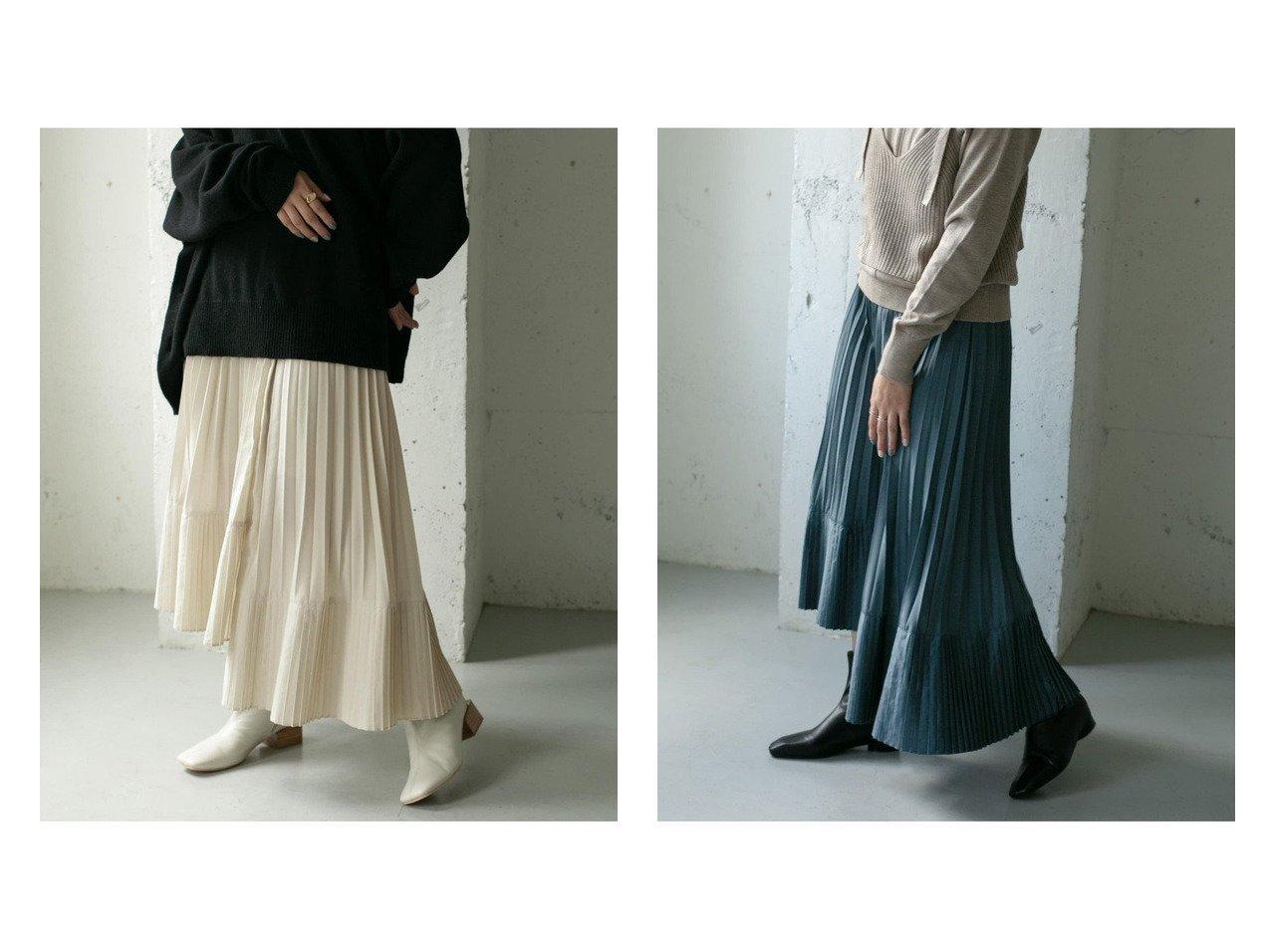 【KBF / URBAN RESEARCH/ケービーエフ】のアシメ変形プリーツスカート スカートのおすすめ!人気、トレンド・レディースファッションの通販 おすすめで人気の流行・トレンド、ファッションの通販商品 メンズファッション・キッズファッション・インテリア・家具・レディースファッション・服の通販 founy(ファニー) https://founy.com/ ファッション Fashion レディースファッション WOMEN スカート Skirt プリーツスカート Pleated Skirts アシンメトリー コンパクト サンダル スウェット スタンダード スニーカー プリーツ 切替 春 Spring A/W 秋冬 AW Autumn/Winter / FW Fall-Winter  ID:crp329100000012430