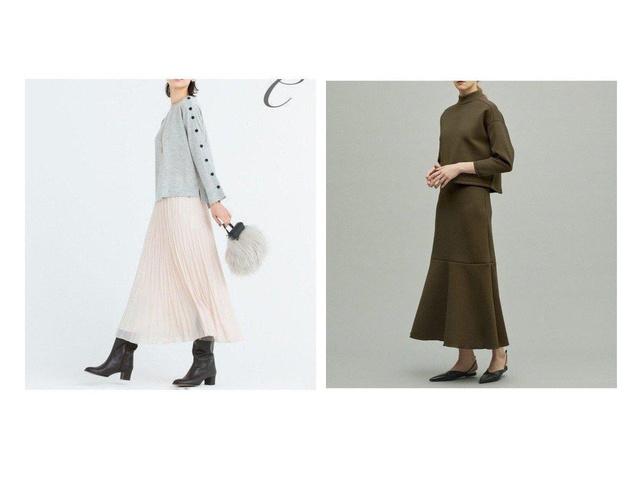 【JIYU-KU/自由区】の【Class Lounge】SHINY CHIFFON ロング プリーツ スカート&【uncrave/アンクレイヴ】のスポンジージャージー スカート スカートのおすすめ!人気、トレンド・レディースファッションの通販 おすすめで人気の流行・トレンド、ファッションの通販商品 メンズファッション・キッズファッション・インテリア・家具・レディースファッション・服の通販 founy(ファニー) https://founy.com/ ファッション Fashion レディースファッション WOMEN スカート Skirt プリーツスカート Pleated Skirts コレクション シフォン フォルム プリーツ ロング A/W 秋冬 AW Autumn/Winter / FW Fall-Winter 2020年 2020 2020-2021 秋冬 A/W AW Autumn/Winter / FW Fall-Winter 2020-2021 送料無料 Free Shipping 再入荷 Restock/Back in Stock/Re Arrival  ID:crp329100000012435