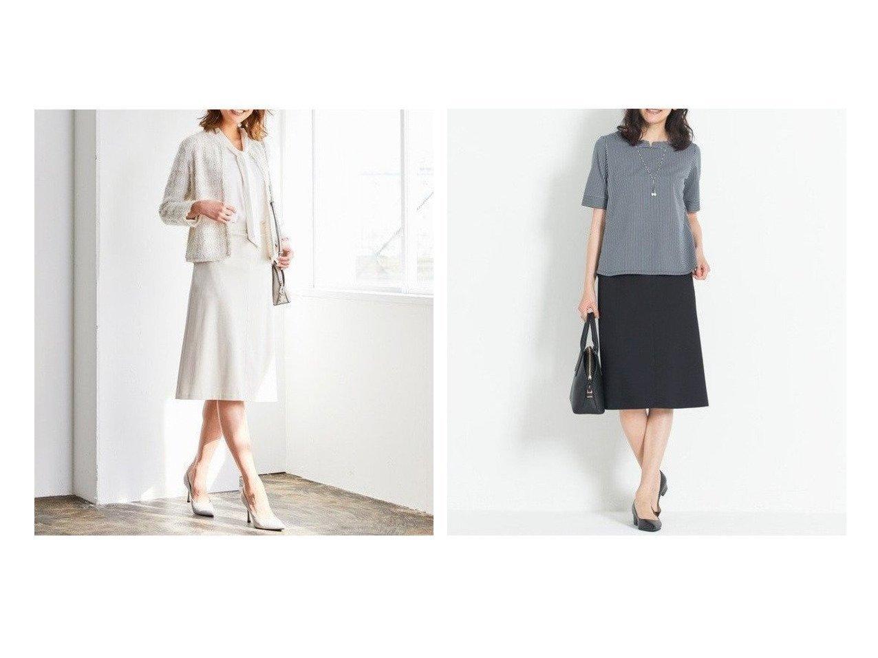 【JIYU-KU/自由区】の360°FREE ウォッシャブル セミフレアスカート&360°FREEリュミエール ジャージースカート スカートのおすすめ!人気、トレンド・レディースファッションの通販 おすすめで人気の流行・トレンド、ファッションの通販商品 メンズファッション・キッズファッション・インテリア・家具・レディースファッション・服の通販 founy(ファニー) https://founy.com/ ファッション Fashion レディースファッション WOMEN スカート Skirt Aライン/フレアスカート Flared A-Line Skirts ウォッシャブル カットソー ジャケット ドレープ ポケット 送料無料 Free Shipping エアリー シンプル ジャージー 軽量  ID:crp329100000012436