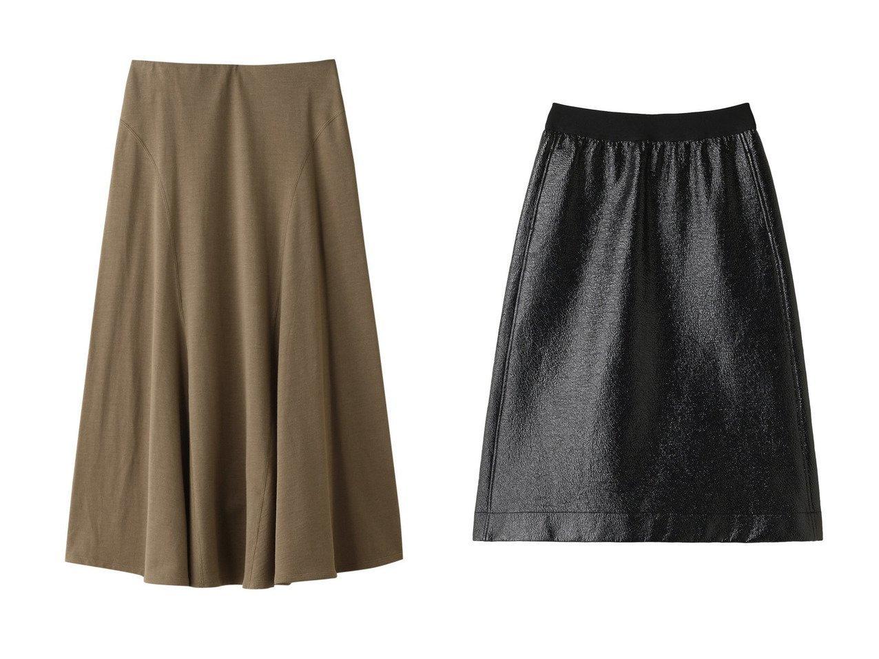 【PLAIN PEOPLE/プレインピープル】のラミーコットン裏毛スカート&ワッシャーエナメルフレアスカート スカートのおすすめ!人気、トレンド・レディースファッションの通販 おすすめで人気の流行・トレンド、ファッションの通販商品 メンズファッション・キッズファッション・インテリア・家具・レディースファッション・服の通販 founy(ファニー) https://founy.com/ ファッション Fashion レディースファッション WOMEN スカート Skirt ロングスカート Long Skirt Aライン/フレアスカート Flared A-Line Skirts フレア ロング エナメル ガーリー クール ワッシャー  ID:crp329100000012443