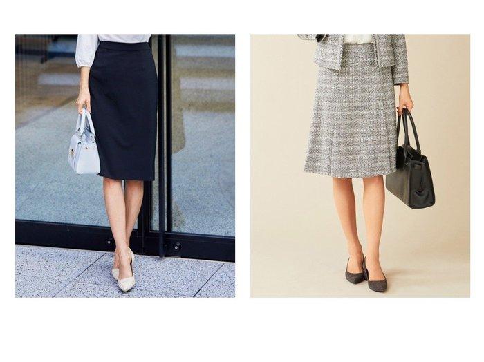 【J.PRESS/ジェイ プレス】の【セットアップ対応】ファンシーツイード スカート&【any SiS/エニィ スィス】の【セットアップ対応】セレモニーダブルクロス スカート スカートのおすすめ!人気、トレンド・レディースファッションの通販 おすすめファッション通販アイテム レディースファッション・服の通販 founy(ファニー)  ファッション Fashion レディースファッション WOMEN セットアップ Setup スカート Skirt ストレッチ セットアップ 雑誌 タイトスカート 楽ちん 再入荷 Restock/Back in Stock/Re Arrival 送料無料 Free Shipping ツイード |ID:crp329100000012447