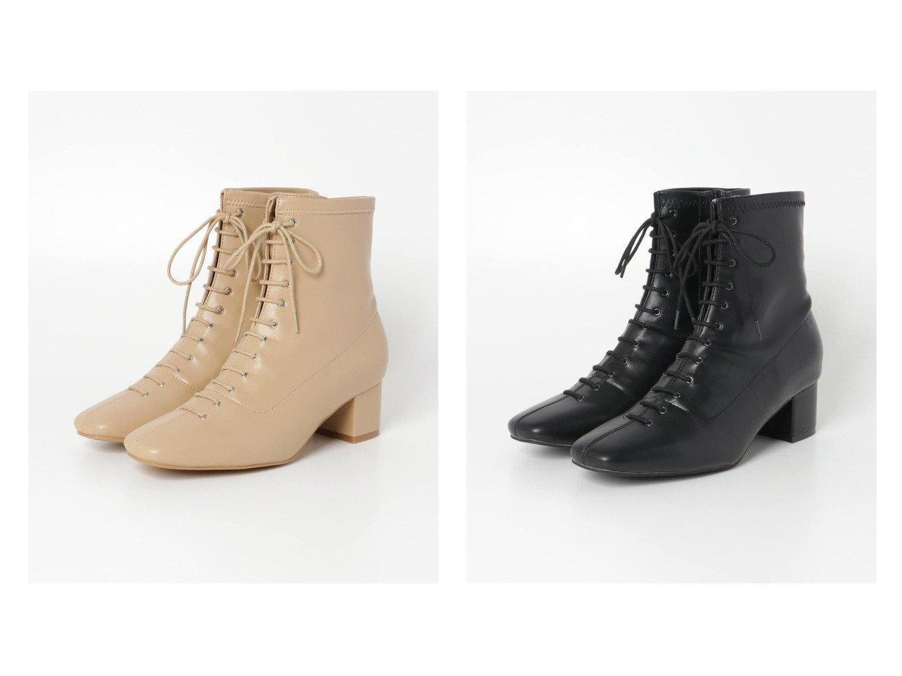 【URBAN RESEARCH/アーバンリサーチ】のレースアップブーツ シューズ・靴のおすすめ!人気、トレンド・レディースファッションの通販 おすすめで人気の流行・トレンド、ファッションの通販商品 メンズファッション・キッズファッション・インテリア・家具・レディースファッション・服の通販 founy(ファニー) https://founy.com/ ファッション Fashion レディースファッション WOMEN シューズ ショート  ID:crp329100000012457