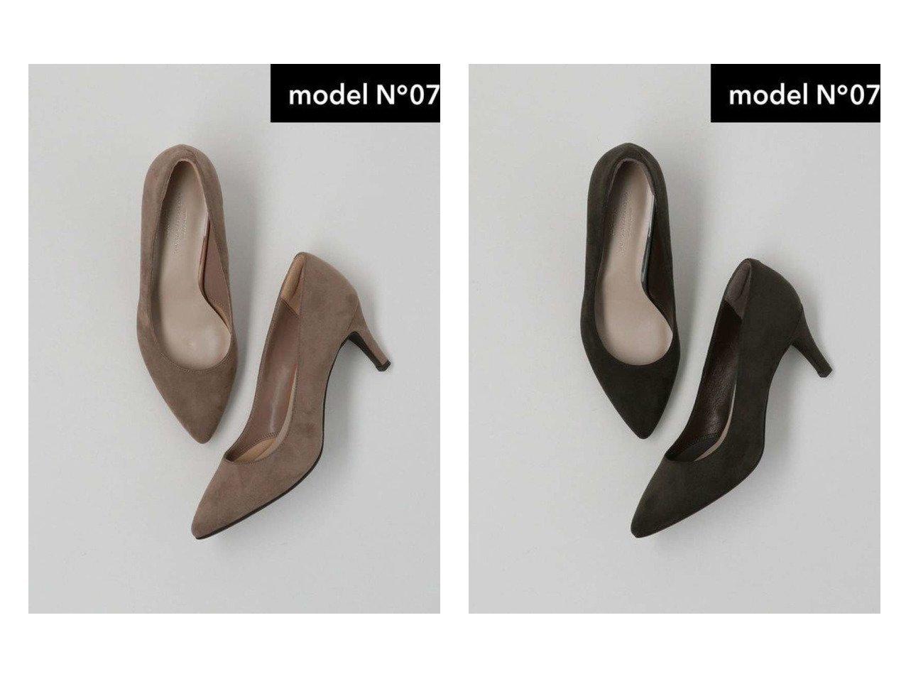 【green label relaxing / UNITED ARROWS/グリーンレーベル リラクシング / ユナイテッドアローズ】のmodel NO.07 D ポインテッド プレーン パンプス(7cmヒール) シューズ・靴のおすすめ!人気、トレンド・レディースファッションの通販 おすすめで人気の流行・トレンド、ファッションの通販商品 メンズファッション・キッズファッション・インテリア・家具・レディースファッション・服の通販 founy(ファニー) https://founy.com/ ファッション Fashion レディースファッション WOMEN クッション シューズ デニム 定番 Standard ハイヒール フィット フォルム プレーン ポインテッド  ID:crp329100000012462