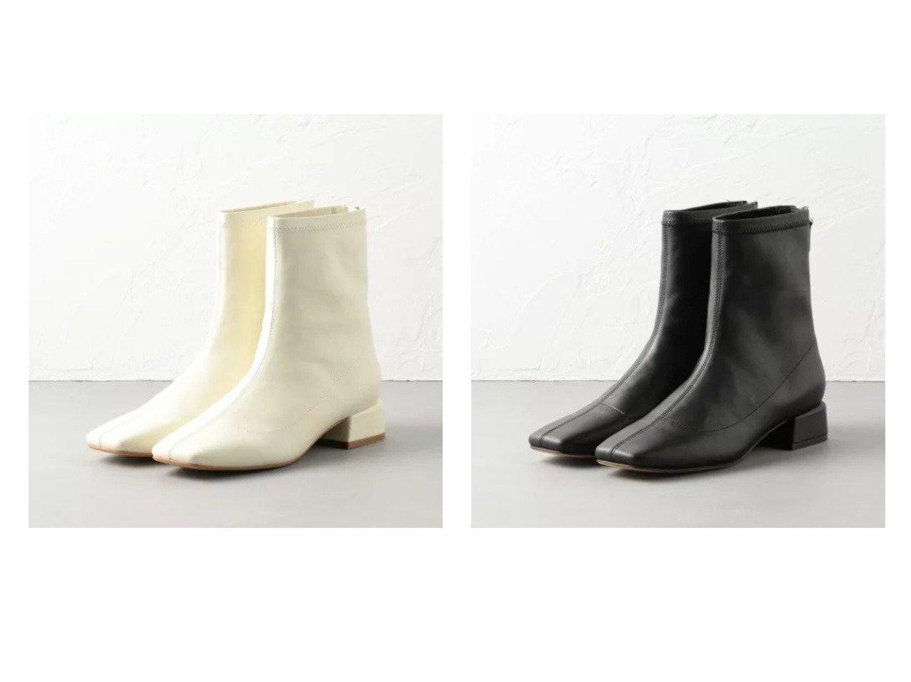 【Odette e Odile/オデット エ オディール】のOFC プレーンストレッチ ショートブーツ35↑ シューズ・靴のおすすめ!人気、トレンド・レディースファッションの通販 おすすめで人気の流行・トレンド、ファッションの通販商品 メンズファッション・キッズファッション・インテリア・家具・レディースファッション・服の通販 founy(ファニー) https://founy.com/ ファッション Fashion レディースファッション WOMEN シューズ ショート ストレッチ フィット  ID:crp329100000012465