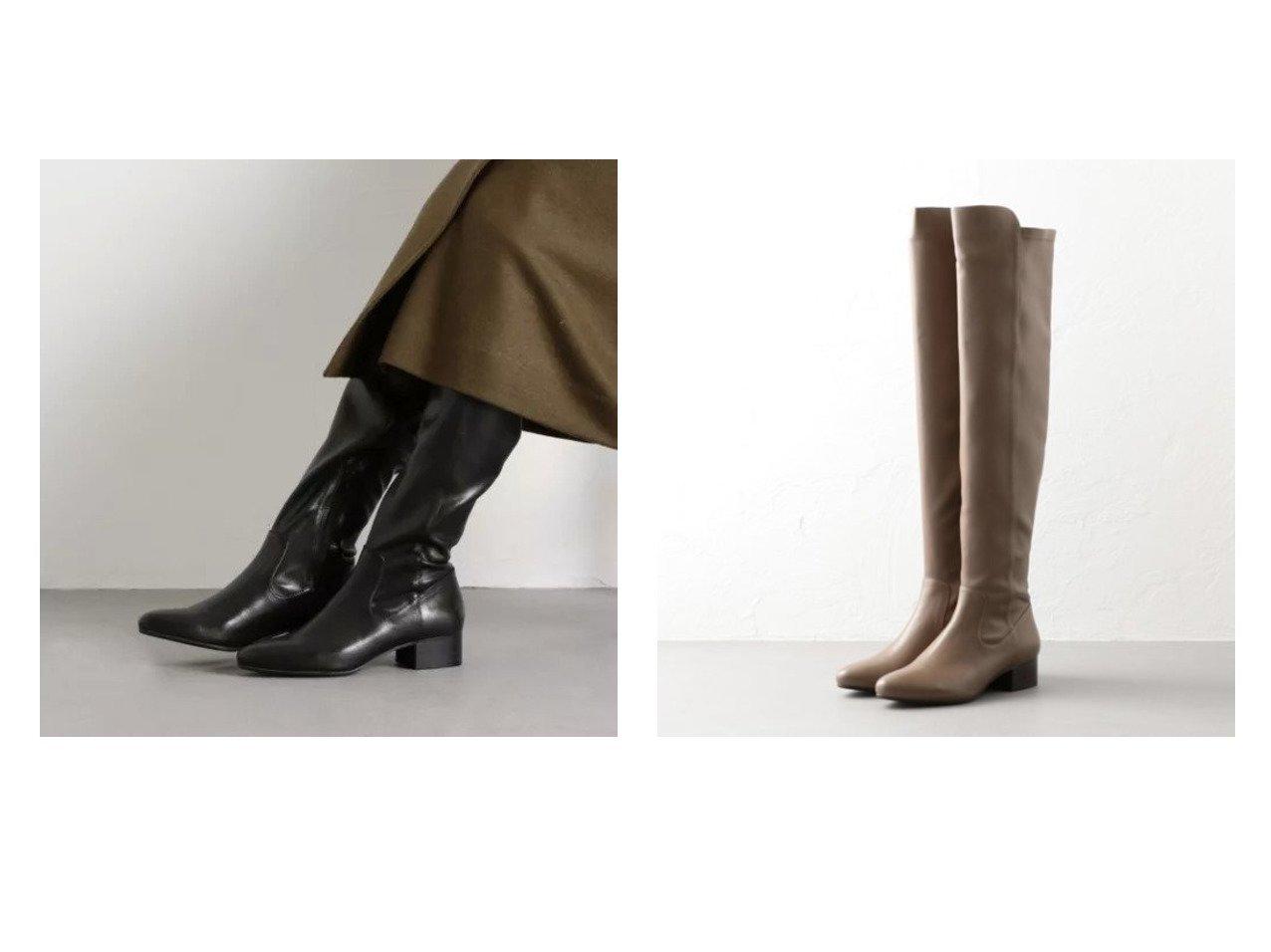 【Odette e Odile/オデット エ オディール】のOFC ストレッチニーハイ ロングブーツ40↑ シューズ・靴のおすすめ!人気、トレンド・レディースファッションの通販 おすすめで人気の流行・トレンド、ファッションの通販商品 メンズファッション・キッズファッション・インテリア・家具・レディースファッション・服の通販 founy(ファニー) https://founy.com/ ファッション Fashion レディースファッション WOMEN シューズ シンプル ハーフ フィット ロング  ID:crp329100000012467