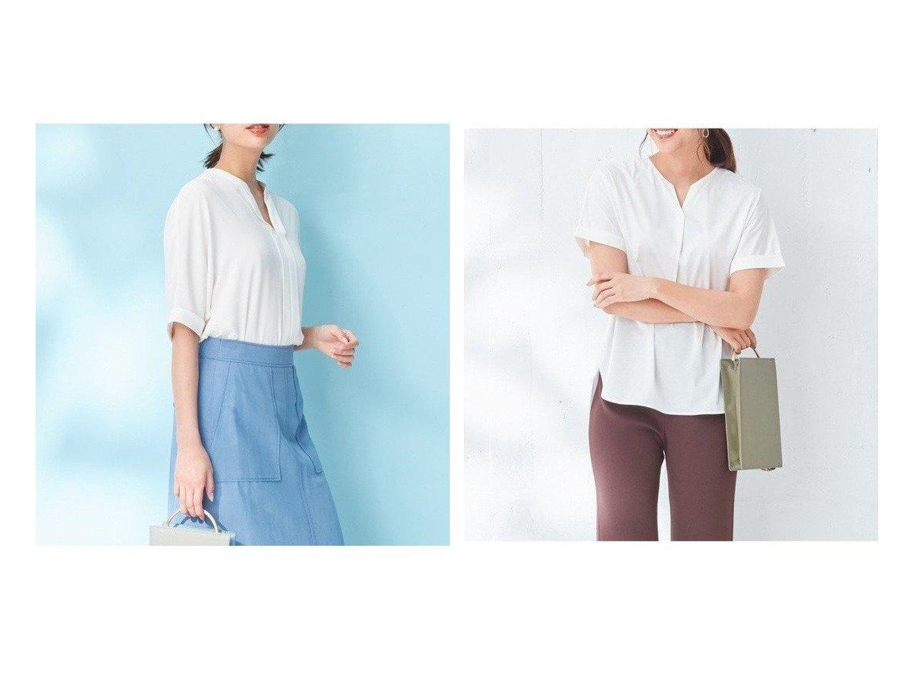 【iCB/アイシービー】のMulti Stripe ブラウス&Compact Plating カットソー トップス・カットソーのおすすめ!人気、トレンド・レディースファッションの通販 おすすめで人気の流行・トレンド、ファッションの通販商品 メンズファッション・キッズファッション・インテリア・家具・レディースファッション・服の通販 founy(ファニー) https://founy.com/ ファッション Fashion レディースファッション WOMEN トップス Tops Tshirt シャツ/ブラウス Shirts Blouses カットソー Cut and Sewn 春 Spring 秋 Autumn/Fall ガーリー クール スタイリッシュ ストライプ ドット 定番 Standard ベーシック ボトム 無地 送料無料 Free Shipping |ID:crp329100000012623