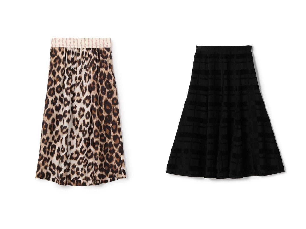 【ESTNATION/エストネーション】のシャドーチェックフレアスカート&【LA PRESTIC OUISTON/ラ プレスティック ウィストン】のシルクレオパードAラインスカート おすすめ!人気、トレンド・レディースファッションの通販 おすすめで人気の流行・トレンド、ファッションの通販商品 メンズファッション・キッズファッション・インテリア・家具・レディースファッション・服の通販 founy(ファニー) https://founy.com/ ファッション Fashion レディースファッション WOMEN スカート Skirt Aライン/フレアスカート Flared A-Line Skirts エレガント コレクション シルク スカーフ ストール パターン フランス プリント モダン モチーフ レオパード ヴィンテージ 再入荷 Restock/Back in Stock/Re Arrival |ID:crp329100000012662