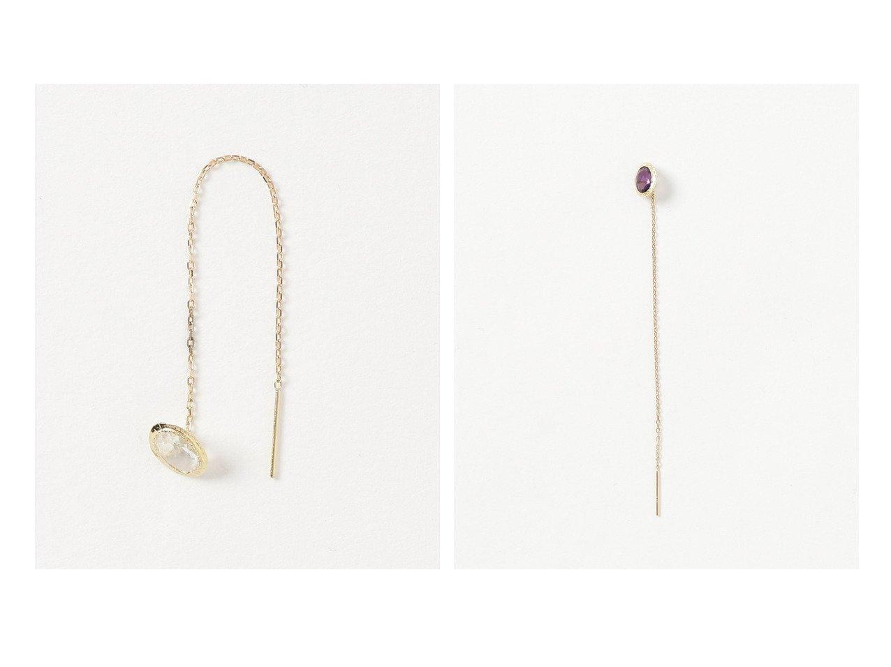 【GIGI/ジジ】のPierced earring (Single) おすすめ!人気、トレンド・レディースファッションの通販 おすすめで人気の流行・トレンド、ファッションの通販商品 メンズファッション・キッズファッション・インテリア・家具・レディースファッション・服の通販 founy(ファニー) https://founy.com/ ファッション Fashion レディースファッション WOMEN ジュエリー Jewelry リング Rings イヤリング Earrings ジュエリー フォルム 再入荷 Restock/Back in Stock/Re Arrival |ID:crp329100000012715