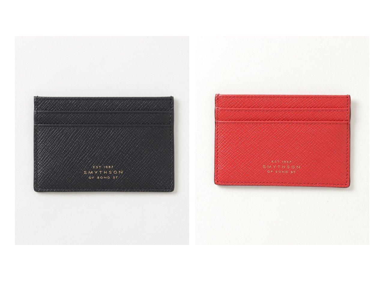 【SMYTHSON/スマイソン】のFLAT CARD HOLDER PANAMA カードケース おすすめ!人気、トレンド・レディースファッションの通販 おすすめで人気の流行・トレンド、ファッションの通販商品 メンズファッション・キッズファッション・インテリア・家具・レディースファッション・服の通販 founy(ファニー) https://founy.com/ ファッション Fashion レディースファッション WOMEN 財布 Wallets カードケース/名刺入れ Card Cases エレガント コレクション 財布 ハンド メンズ 再入荷 Restock/Back in Stock/Re Arrival |ID:crp329100000012717