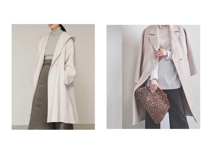 【BOSCH/ボッシュ】のウールリバーフードコート&【UNITED ARROWS/ユナイテッドアローズ】のN BIG テーラードコート† アウターのおすすめ!人気、トレンド・レディースファッションの通販  おすすめファッション通販アイテム レディースファッション・服の通販 founy(ファニー) ファッション Fashion レディースファッション WOMEN アウター Coat Outerwear コート Coats ジャケット Jackets エレガント ショート ジャケット |ID:crp329100000012756