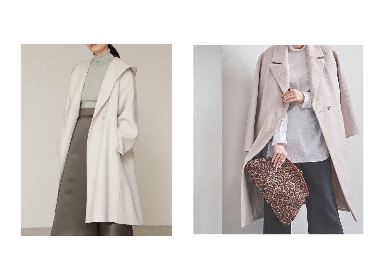 【BOSCH/ボッシュ】のウールリバーフードコート&【UNITED ARROWS/ユナイテッドアローズ】のN BIG テーラードコート† アウターのおすすめ!人気、トレンド・レディースファッションの通販  おすすめで人気の流行・トレンド、ファッションの通販商品 メンズファッション・キッズファッション・インテリア・家具・レディースファッション・服の通販 founy(ファニー) https://founy.com/ ファッション Fashion レディースファッション WOMEN アウター Coat Outerwear コート Coats ジャケット Jackets エレガント ショート ジャケット |ID:crp329100000012756