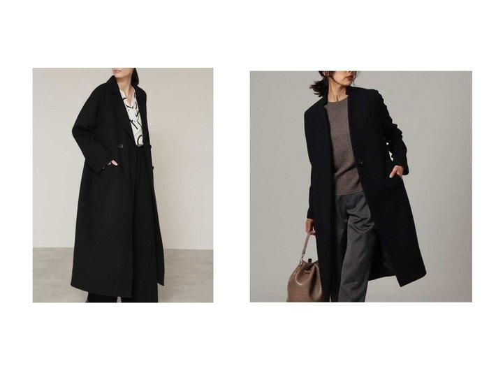 【BOSCH/ボッシュ】のウールリバーテーラードコート&【UNTITLED/アンタイトル】のジロンラムウールコート アウターのおすすめ!人気、トレンド・レディースファッションの通販  おすすめファッション通販アイテム レディースファッション・服の通販 founy(ファニー) ファッション Fashion レディースファッション WOMEN アウター Coat Outerwear コート Coats ジャケット Jackets チェスターコート Top Coat エレガント ショート ジャケット ロング 再入荷 Restock/Back in Stock/Re Arrival シンプル チェスターコート フロント |ID:crp329100000012757