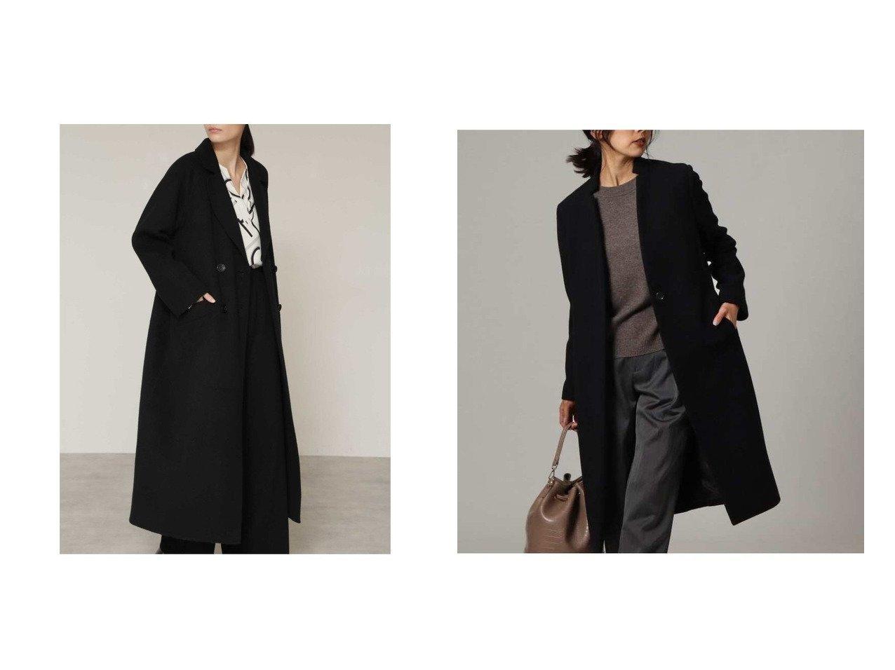 【BOSCH/ボッシュ】のウールリバーテーラードコート&【UNTITLED/アンタイトル】のジロンラムウールコート アウターのおすすめ!人気、トレンド・レディースファッションの通販  おすすめで人気の流行・トレンド、ファッションの通販商品 メンズファッション・キッズファッション・インテリア・家具・レディースファッション・服の通販 founy(ファニー) https://founy.com/ ファッション Fashion レディースファッション WOMEN アウター Coat Outerwear コート Coats ジャケット Jackets チェスターコート Top Coat エレガント ショート ジャケット ロング 再入荷 Restock/Back in Stock/Re Arrival シンプル チェスターコート フロント |ID:crp329100000012757