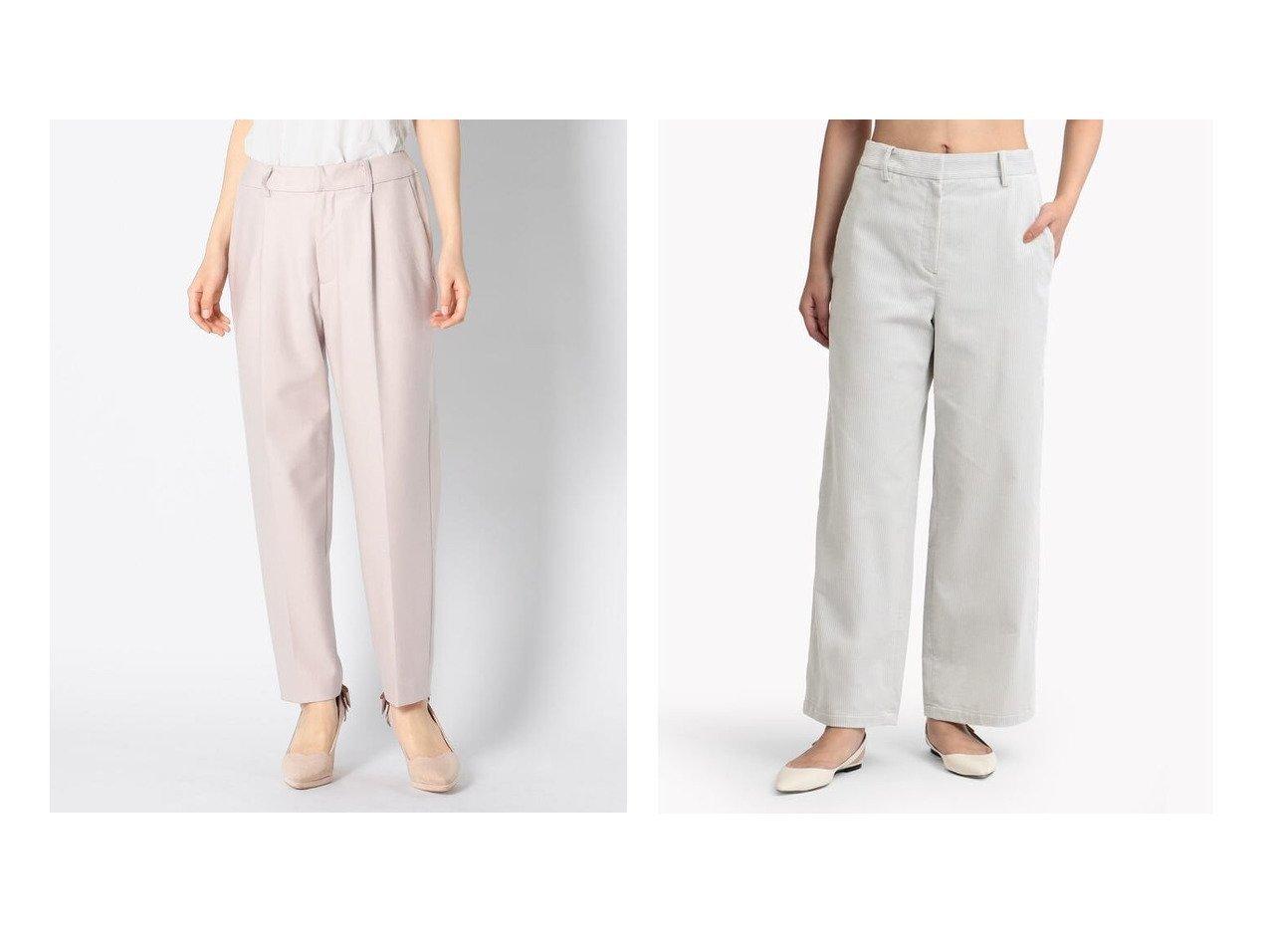 【Theory Luxe/セオリーリュクス】のパンツ WING LISOL A&【MISCH MASCH/ミッシュマッシュ】の両面起毛タックパンツ パンツのおすすめ!人気、トレンド・レディースファッションの通販 おすすめで人気の流行・トレンド、ファッションの通販商品 メンズファッション・キッズファッション・インテリア・家具・レディースファッション・服の通販 founy(ファニー) https://founy.com/ ファッション Fashion レディースファッション WOMEN パンツ Pants ベーシック コーデュロイ ファブリック フィット  ID:crp329100000012889