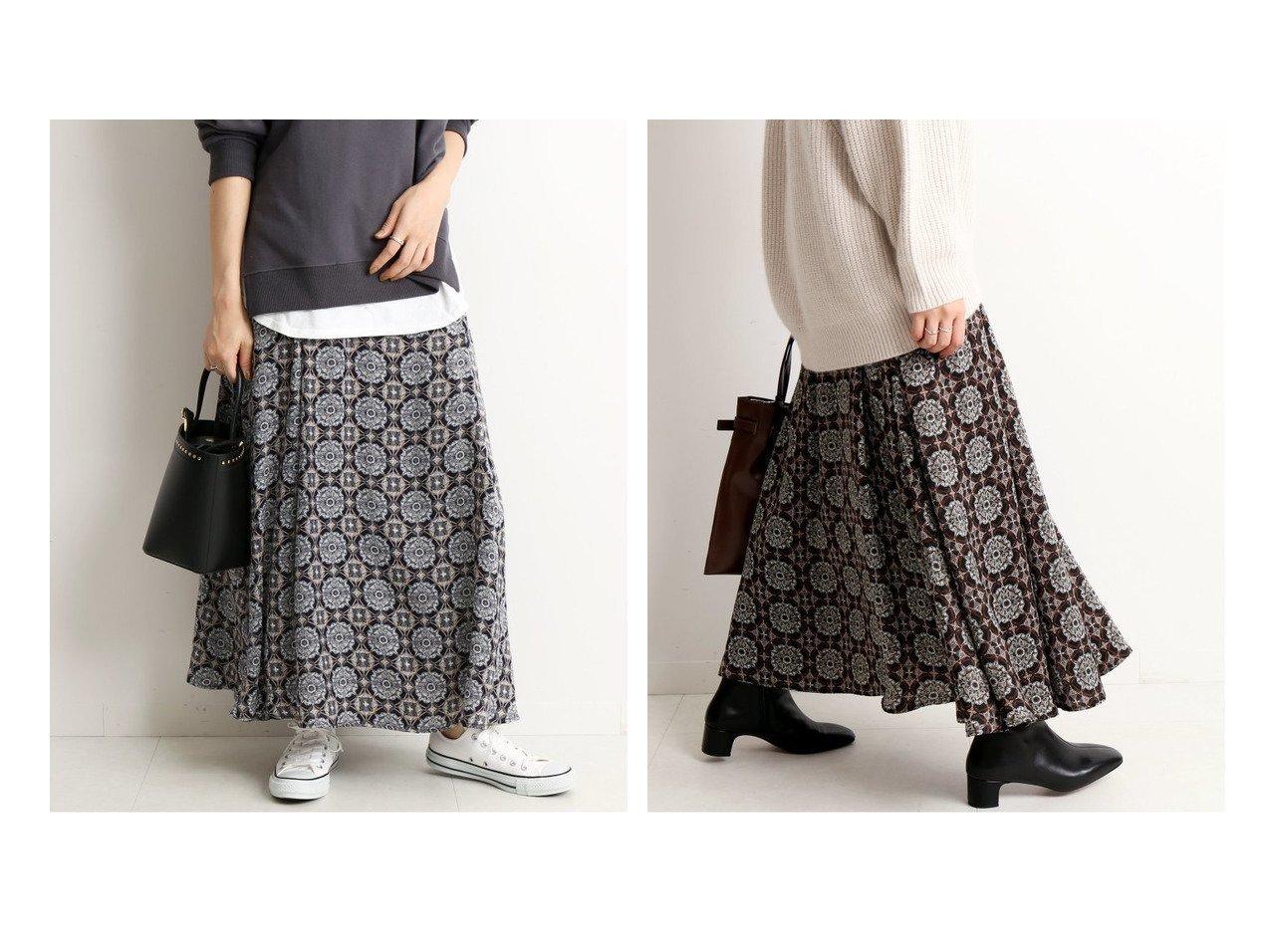 【SLOBE IENA/スローブ イエナ】の《追加》ビンテージタイル柄ロングフレアスカート スカートのおすすめ!人気、トレンド・レディースファッションの通販 おすすめで人気の流行・トレンド、ファッションの通販商品 メンズファッション・キッズファッション・インテリア・家具・レディースファッション・服の通販 founy(ファニー) https://founy.com/ ファッション Fashion レディースファッション WOMEN スカート Skirt Aライン/フレアスカート Flared A-Line Skirts オリエンタル サテン ショルダー フレア プリント A/W 秋冬 AW Autumn/Winter / FW Fall-Winter 2020年 2020 2020-2021 秋冬 A/W AW Autumn/Winter / FW Fall-Winter 2020-2021 |ID:crp329100000012891