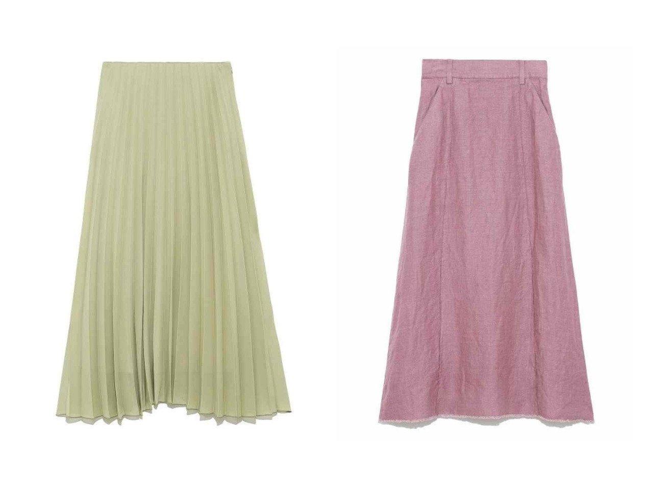 【Mila Owen/ミラオーウェン】のセンターコバリネンロングスカート&ウエストコード太幅プリーツスカート スカートのおすすめ!人気、トレンド・レディースファッションの通販 おすすめで人気の流行・トレンド、ファッションの通販商品 メンズファッション・キッズファッション・インテリア・家具・レディースファッション・服の通販 founy(ファニー) https://founy.com/ ファッション Fashion レディースファッション WOMEN スカート Skirt プリーツスカート Pleated Skirts ロングスカート Long Skirt NEW・新作・新着・新入荷 New Arrivals プリーツ リラックス ロング 今季 再入荷 Restock/Back in Stock/Re Arrival 定番 Standard 春 Spring センター フレア リネン ヴィンテージ |ID:crp329100000012897