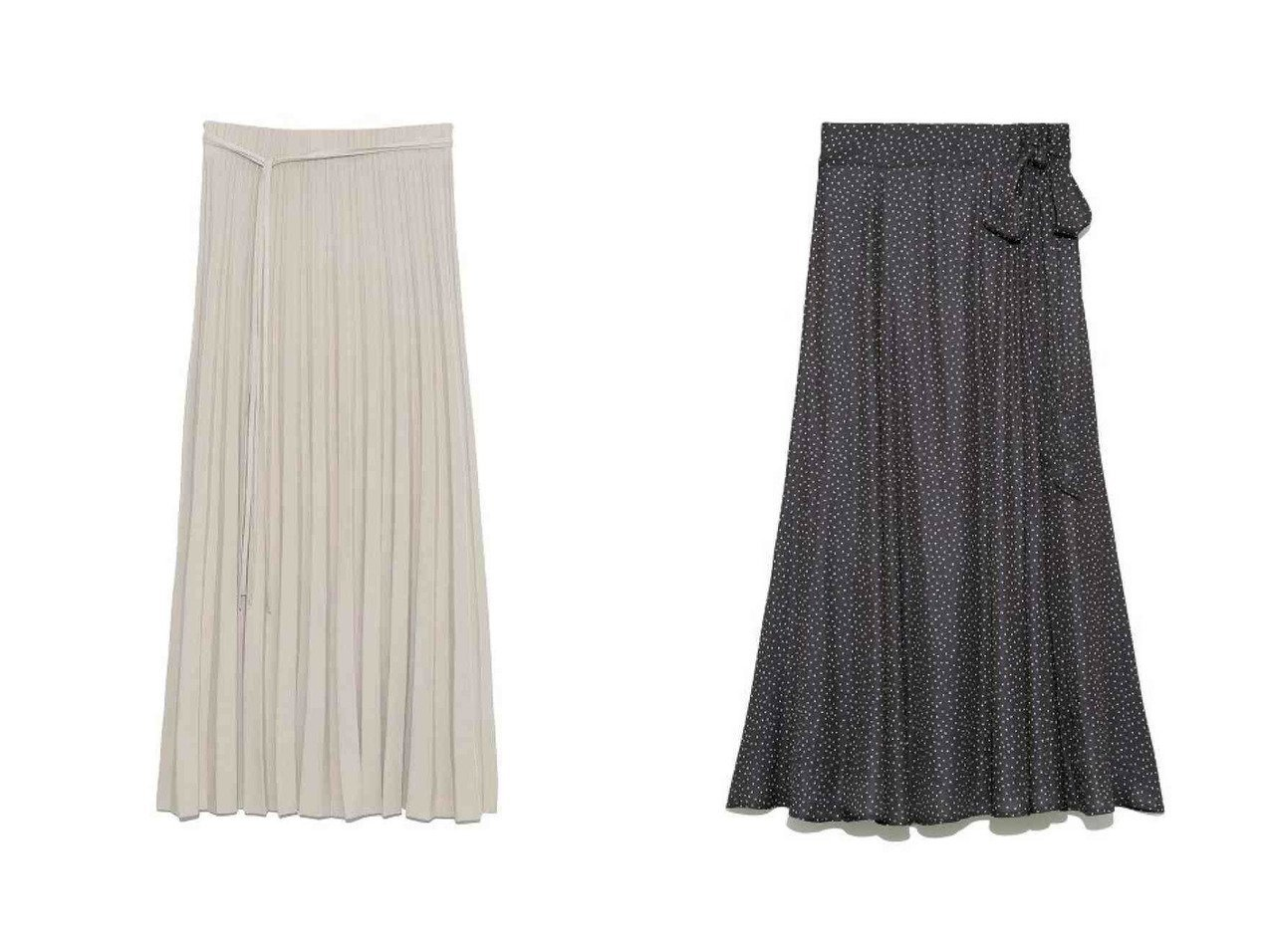 【Mila Owen/ミラオーウェン】のオーガニックスカート&サテンマキシ丈巻きスカート スカートのおすすめ!人気、トレンド・レディースファッションの通販 おすすめで人気の流行・トレンド、ファッションの通販商品 メンズファッション・キッズファッション・インテリア・家具・レディースファッション・服の通販 founy(ファニー) https://founy.com/ ファッション Fashion レディースファッション WOMEN スカート Skirt ロングスカート Long Skirt NEW・新作・新着・新入荷 New Arrivals パープル プリーツ ロング 再入荷 Restock/Back in Stock/Re Arrival |ID:crp329100000012898