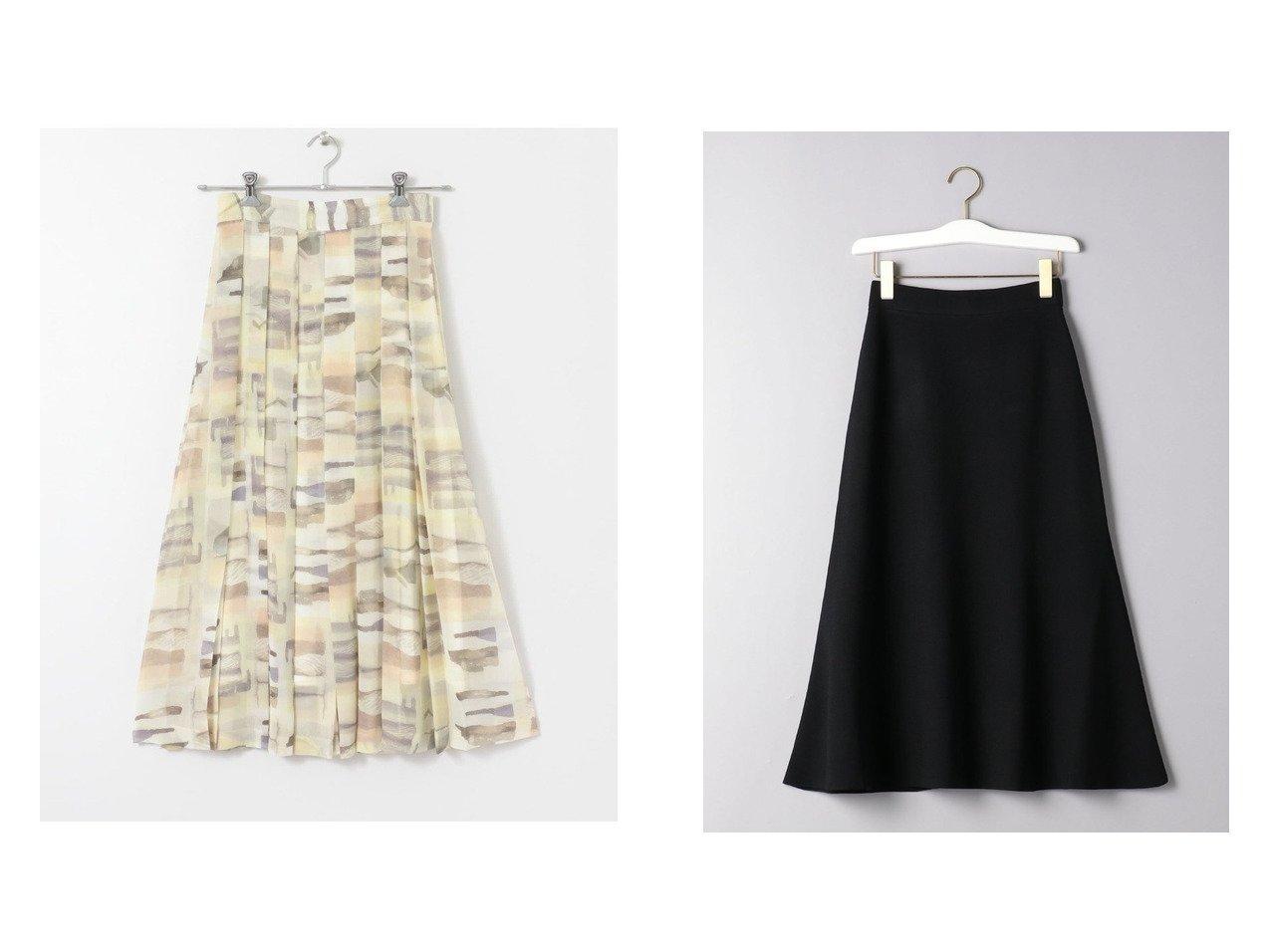 【UNITED ARROWS/ユナイテッドアローズ】のMarilyn Moon(マリリンムーン) フィット フレア イージースカート&【URBAN RESEARCH/アーバンリサーチ】のCURRENTAGE SKIRT スカートのおすすめ!人気、トレンド・レディースファッションの通販 おすすめで人気の流行・トレンド、ファッションの通販商品 メンズファッション・キッズファッション・インテリア・家具・レディースファッション・服の通販 founy(ファニー) https://founy.com/ ファッション Fashion レディースファッション WOMEN スカート Skirt ロングスカート Long Skirt NEW・新作・新着・新入荷 New Arrivals クラシック トレンド ビンテージ ポケット モダン シンプル フィット フレア ロング |ID:crp329100000012901