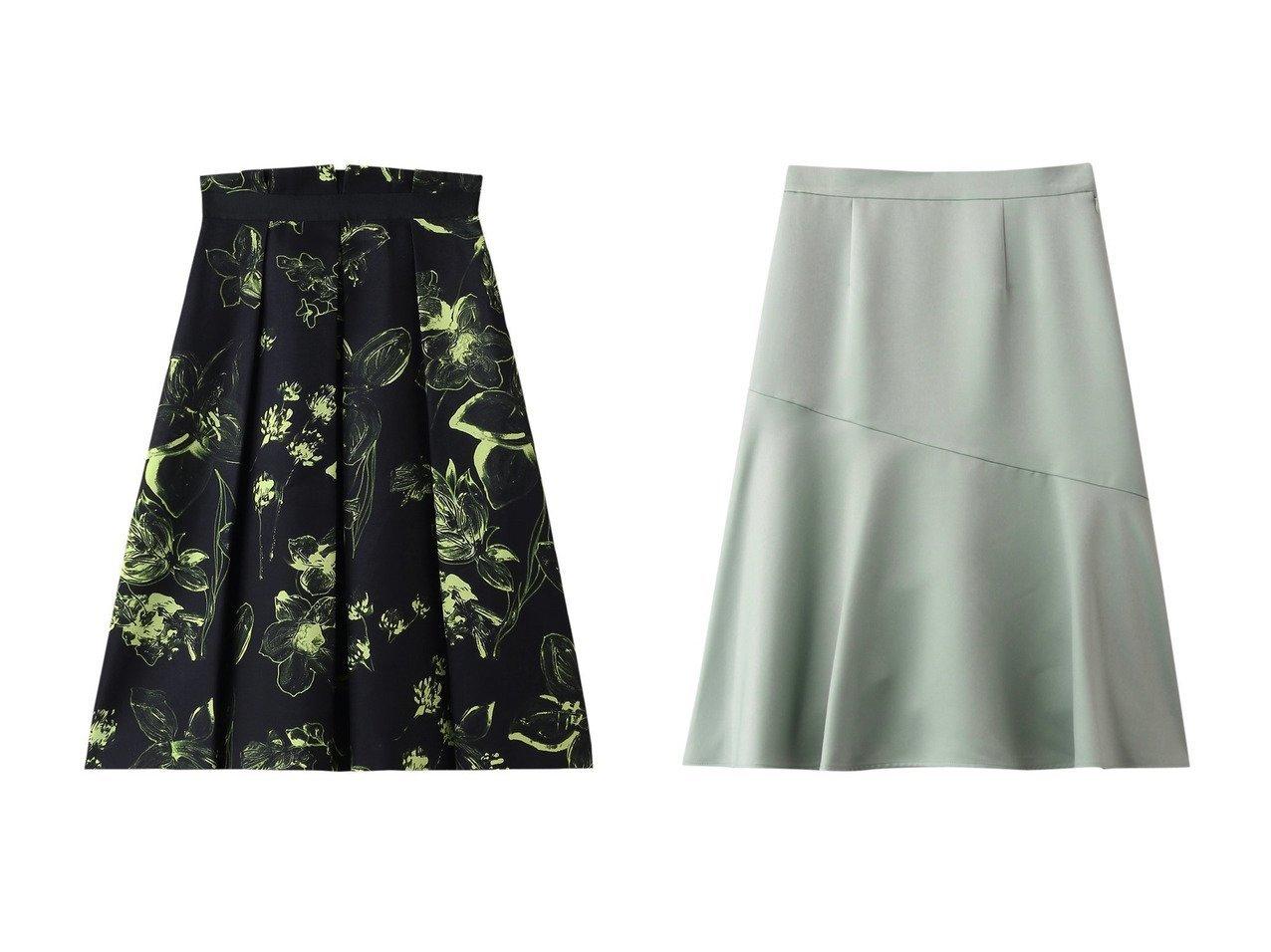 【ANAYI/アナイ】のキモウサテンセミフレアスカート&ネオンフラワーPTタックスカート スカートのおすすめ!人気、トレンド・レディースファッションの通販 おすすめで人気の流行・トレンド、ファッションの通販商品 メンズファッション・キッズファッション・インテリア・家具・レディースファッション・服の通販 founy(ファニー) https://founy.com/ ファッション Fashion レディースファッション WOMEN スカート Skirt Aライン/フレアスカート Flared A-Line Skirts ドレス ネオン フラワー ミックス 再入荷 Restock/Back in Stock/Re Arrival |ID:crp329100000012906