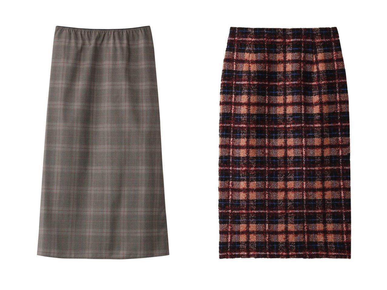 【martinique/マルティニーク】の【SOFIE D HOORE】ウールチェックスカート&【ANAYI/アナイ】のループチェックタイトスカート スカートのおすすめ!人気、トレンド・レディースファッションの通販 おすすめで人気の流行・トレンド、ファッションの通販商品 メンズファッション・キッズファッション・インテリア・家具・レディースファッション・服の通販 founy(ファニー) https://founy.com/ ファッション Fashion レディースファッション WOMEN スカート Skirt ガーリー チェック 再入荷 Restock/Back in Stock/Re Arrival 防寒 カットソー クラシカル タートルネック モヘア |ID:crp329100000012907