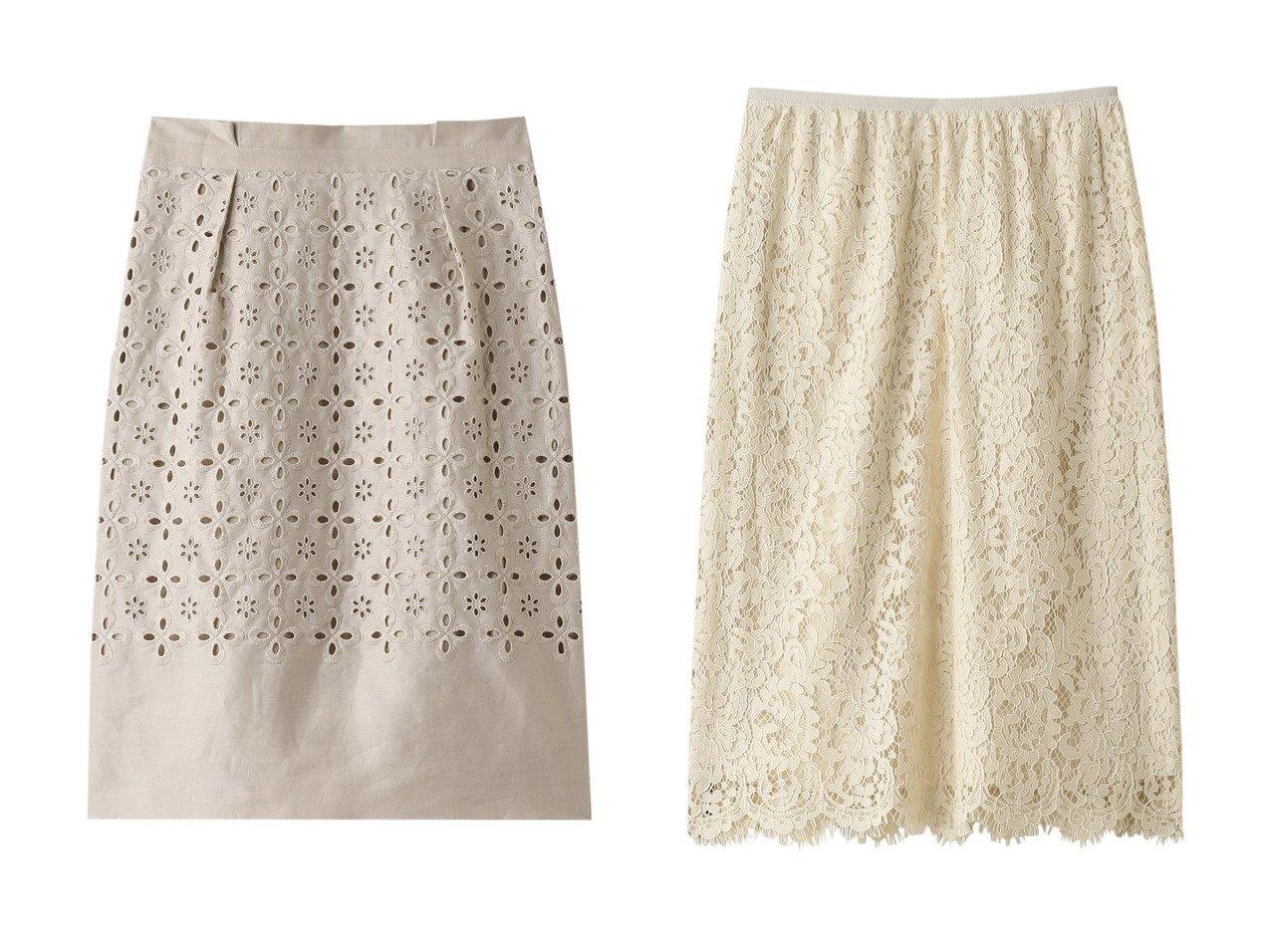 【ANAYI/アナイ】のリネンシシュウハイウエストスカート&パネルレースタイトスカート スカートのおすすめ!人気、トレンド・レディースファッションの通販 おすすめで人気の流行・トレンド、ファッションの通販商品 メンズファッション・キッズファッション・インテリア・家具・レディースファッション・服の通販 founy(ファニー) https://founy.com/ ファッション Fashion レディースファッション WOMEN スカート Skirt スリム リネン 再入荷 Restock/Back in Stock/Re Arrival |ID:crp329100000012908