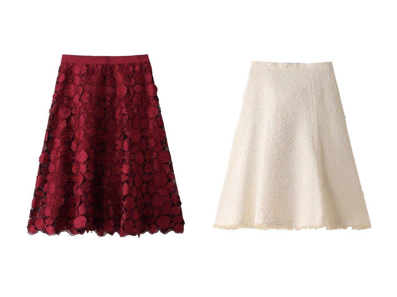 【ANAYI/アナイ】の3Dレースフレアスカート&ファンシーツイードフレアスカート スカートのおすすめ!人気、トレンド・レディースファッションの通販 おすすめで人気の流行・トレンド、ファッションの通販商品 メンズファッション・キッズファッション・インテリア・家具・レディースファッション・服の通販 founy(ファニー) https://founy.com/ ファッション Fashion レディースファッション WOMEN スカート Skirt Aライン/フレアスカート Flared A-Line Skirts ロングスカート Long Skirt エアリー シフォン シンプル パーティ フェミニン フラワー フレア ロング 再入荷 Restock/Back in Stock/Re Arrival S/S 春夏 SS Spring/Summer ツイード フリンジ 春 Spring |ID:crp329100000012909