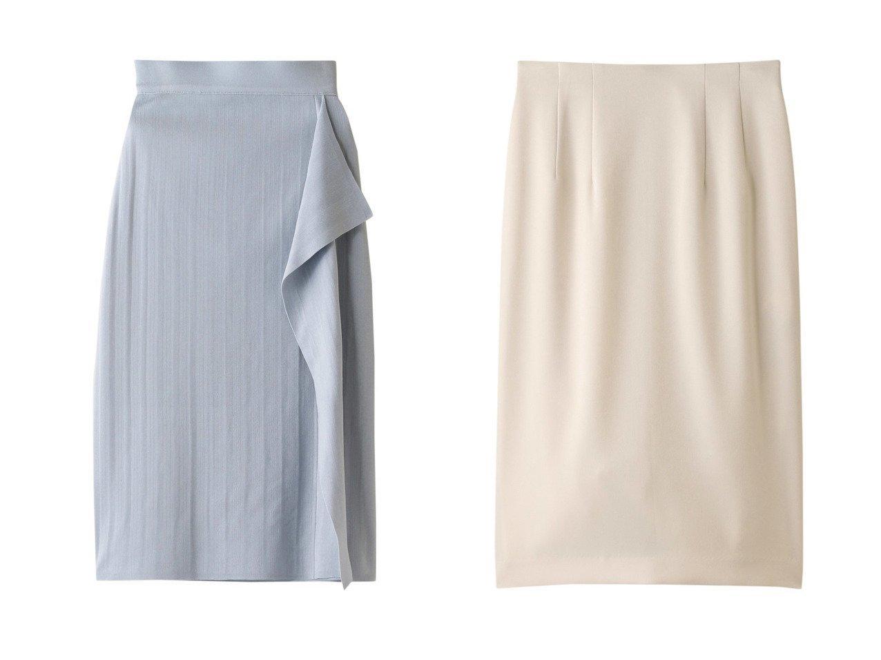 【ANAYI/アナイ】のキュプラソロタイトスカート&トリアセテートサテンタイトスカート スカートのおすすめ!人気、トレンド・レディースファッションの通販 おすすめで人気の流行・トレンド、ファッションの通販商品 メンズファッション・キッズファッション・インテリア・家具・レディースファッション・服の通販 founy(ファニー) https://founy.com/ ファッション Fashion レディースファッション WOMEN スカート Skirt シンプル セットアップ タイトスカート ドレープ ラッフル 再入荷 Restock/Back in Stock/Re Arrival オケージョン 無地 |ID:crp329100000012911