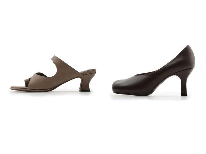 【Mila Owen/ミラオーウェン】のインストームラウンドパンプス&トングヒールサンダル シューズ・靴のおすすめ!人気、トレンド・レディースファッションの通販 おすすめファッション通販アイテム インテリア・キッズ・メンズ・レディースファッション・服の通販 founy(ファニー) https://founy.com/ ファッション Fashion レディースファッション WOMEN NEW・新作・新着・新入荷 New Arrivals アシンメトリー サンダル シューズ フレア ミュール フェイクスエード |ID:crp329100000012939