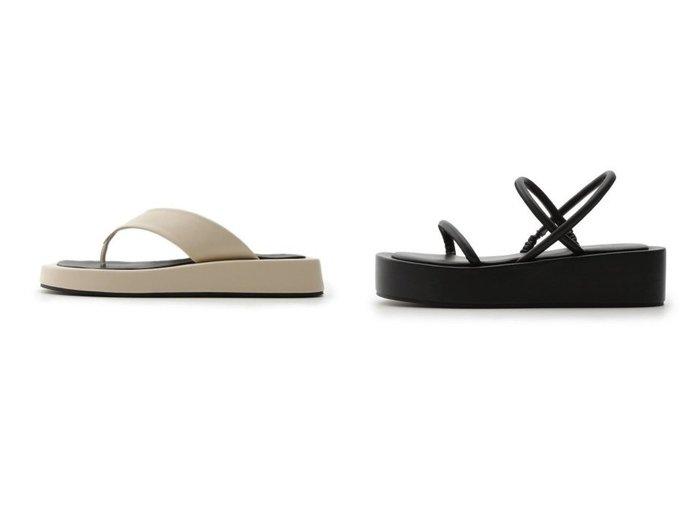 【Mila Owen/ミラオーウェン】のプラットフォームサンダル&ボリュームソールトングサンダル シューズ・靴のおすすめ!人気、トレンド・レディースファッションの通販 おすすめファッション通販アイテム インテリア・キッズ・メンズ・レディースファッション・服の通販 founy(ファニー) https://founy.com/ ファッション Fashion レディースファッション WOMEN NEW・新作・新着・新入荷 New Arrivals サンダル シューズ スポーツ ビーチ フェイクレザー ブロック ミュール ワイド 再入荷 Restock/Back in Stock/Re Arrival ラップ |ID:crp329100000012940