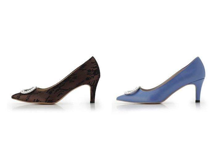 【CELFORD/セルフォード】のビジュー付きパンプス シューズ・靴のおすすめ!人気、トレンド・レディースファッションの通販 おすすめファッション通販アイテム レディースファッション・服の通販 founy(ファニー) ファッション Fashion レディースファッション WOMEN オケージョン サークル シューズ ビジュー ベーシック レース 定番 Standard |ID:crp329100000012950