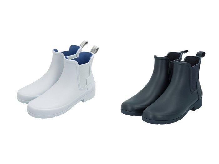 【HUNTER/ハンター】のW ORG REFINED CHELSEA シューズ・靴のおすすめ!人気、トレンド・レディースファッションの通販 おすすめファッション通販アイテム レディースファッション・服の通販 founy(ファニー) ファッション Fashion レディースファッション WOMEN シューズ スリム フィット ライニング ラバー 定番 Standard |ID:crp329100000012952