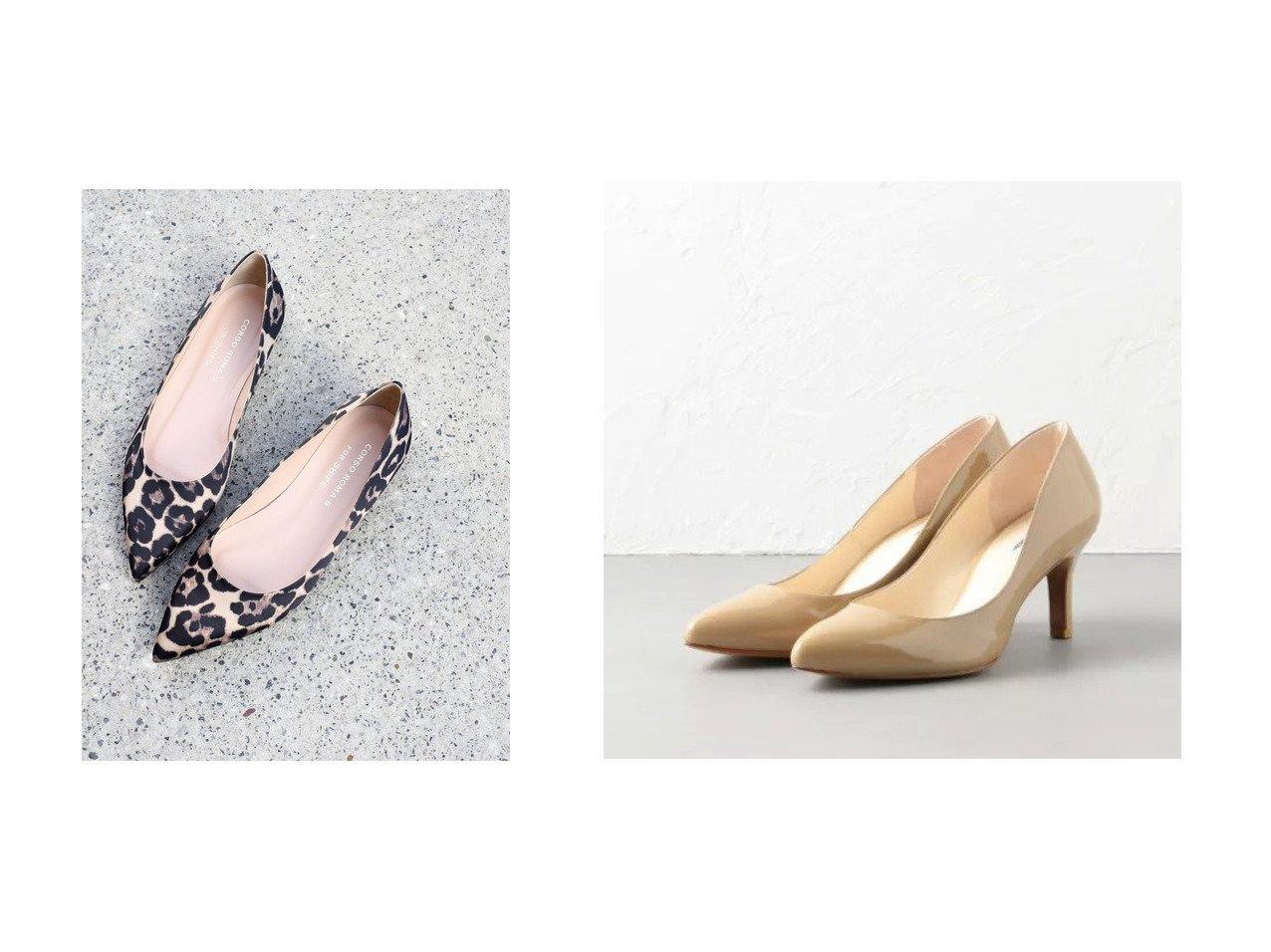 【Odette e Odile/オデット エ オディール】のOFD ポインテッド パンプス70↓↑&【SHIPS/シップス フォー ウィメン】のCORSO ROMA レオパードポインテッドフラット シューズ・靴のおすすめ!人気、トレンド・レディースファッションの通販 おすすめで人気の流行・トレンド、ファッションの通販商品 メンズファッション・キッズファッション・インテリア・家具・レディースファッション・服の通販 founy(ファニー) https://founy.com/ ファッション Fashion レディースファッション WOMEN NEW・新作・新着・新入荷 New Arrivals シューズ シンプル フォルム ベーシック 再入荷 Restock/Back in Stock/Re Arrival 無地 ポインテッド 人気 定番 Standard  ID:crp329100000012963