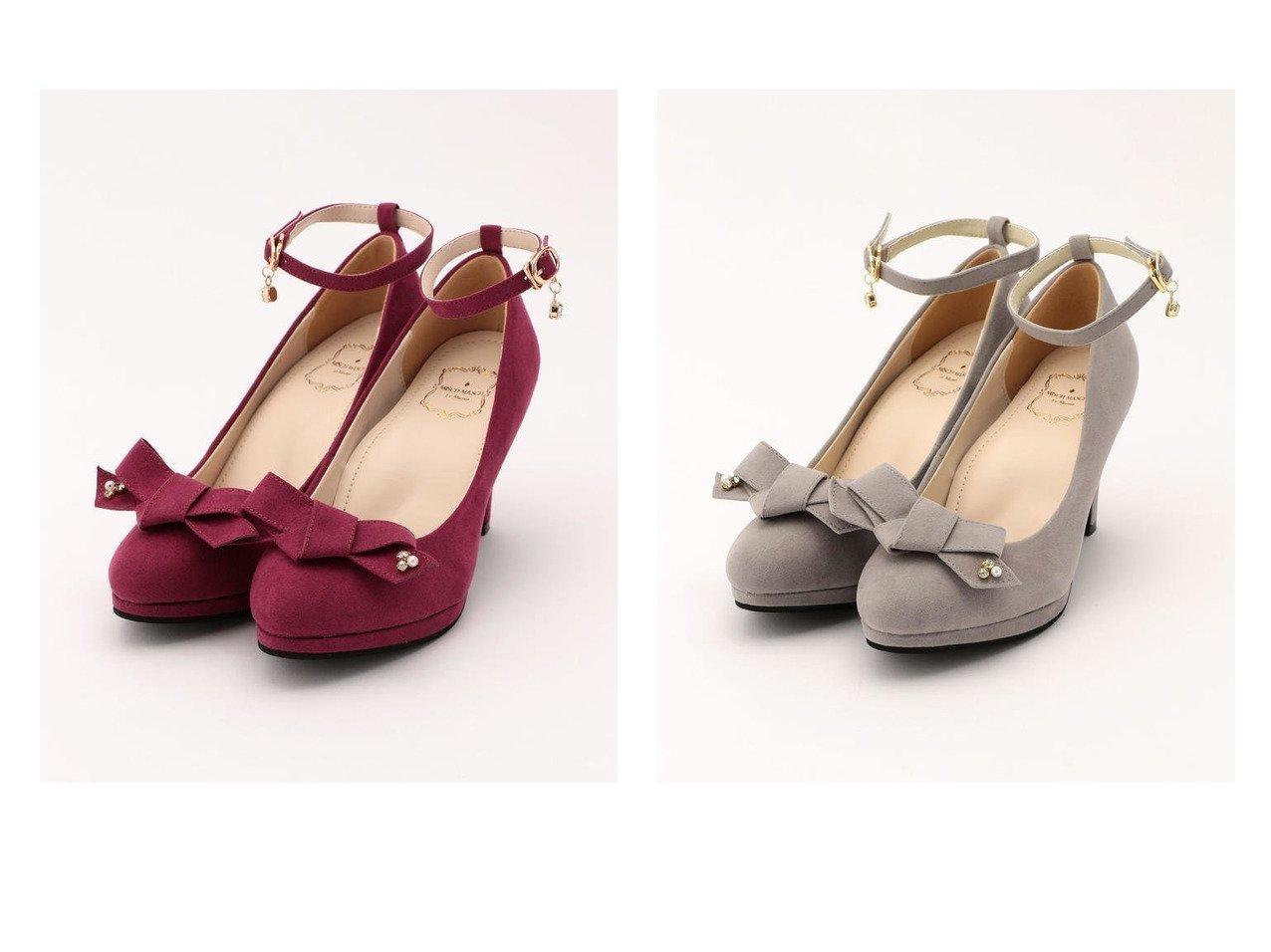 【MISCH MASCH/ミッシュマッシュ】の【美人百花12月号掲載】コンフォートパンプス2019FW シューズ・靴のおすすめ!人気、トレンド・レディースファッションの通販 おすすめで人気の流行・トレンド、ファッションの通販商品 メンズファッション・キッズファッション・インテリア・家具・レディースファッション・服の通販 founy(ファニー) https://founy.com/ 雑誌掲載アイテム Magazine items ファッション雑誌 Fashion magazines ビジンヒャッカ 美人百花 レイ Ray ファッション Fashion レディースファッション WOMEN 12月号 1月号 A/W 秋冬 AW Autumn/Winter / FW Fall-Winter シューズ シンプル ラップ リボン 再入荷 Restock/Back in Stock/Re Arrival 雑誌  ID:crp329100000012970