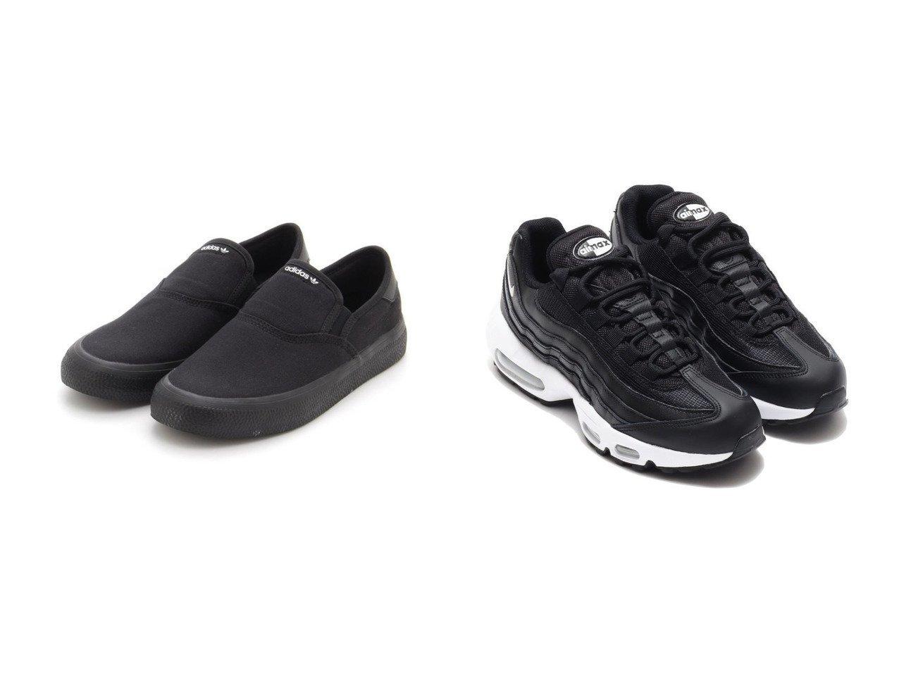 【NIKE/ナイキ】のNIKE W AIR MAX 95&【emmi/エミ】の【adidas Originals】3MC SLIP シューズ・靴のおすすめ!人気、トレンド・レディースファッションの通販 おすすめで人気の流行・トレンド、ファッションの通販商品 メンズファッション・キッズファッション・インテリア・家具・レディースファッション・服の通販 founy(ファニー) https://founy.com/ ファッション Fashion レディースファッション WOMEN シューズ シンプル スニーカー スリッポン ランニング  ID:crp329100000012972