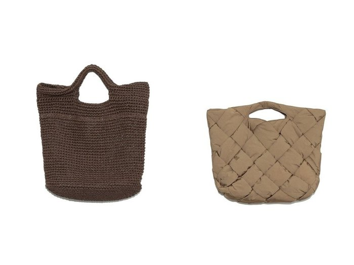 【Mila Owen/ミラオーウェン】のラージかごバッグ&パッドメッシュバッグ バッグ・鞄のおすすめ!人気、トレンド・レディースファッションの通販 おすすめファッション通販アイテム インテリア・キッズ・メンズ・レディースファッション・服の通販 founy(ファニー) https://founy.com/ ファッション Fashion レディースファッション WOMEN バッグ Bag NEW・新作・新着・新入荷 New Arrivals クラッチ ビッグ ビーチ ペーパー 再入荷 Restock/Back in Stock/Re Arrival 春 Spring |ID:crp329100000012978
