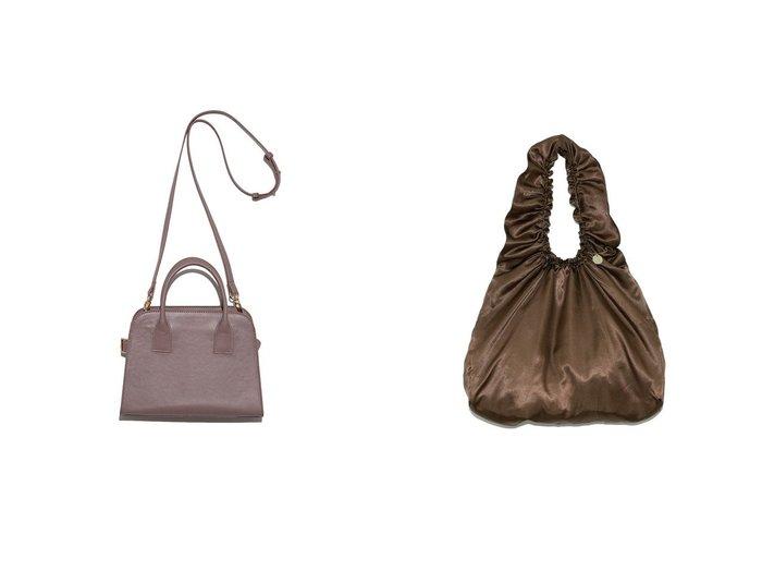 【SNIDEL/スナイデル】のSustainaギャザービッグバッグ&スクエアショルダーバッグ バッグ・鞄のおすすめ!人気、トレンド・レディースファッションの通販 おすすめファッション通販アイテム インテリア・キッズ・メンズ・レディースファッション・服の通販 founy(ファニー) https://founy.com/ ファッション Fashion レディースファッション WOMEN バッグ Bag ショルダー スクエア 定番 Standard 人気 バランス パイソン ポケット ミックス リュクス ギャザー サテン シンプル スマート チャーム ハンドバッグ |ID:crp329100000012993